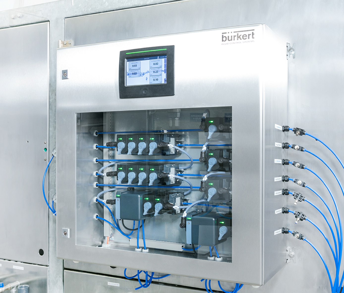 More function modules for compact water analysis system