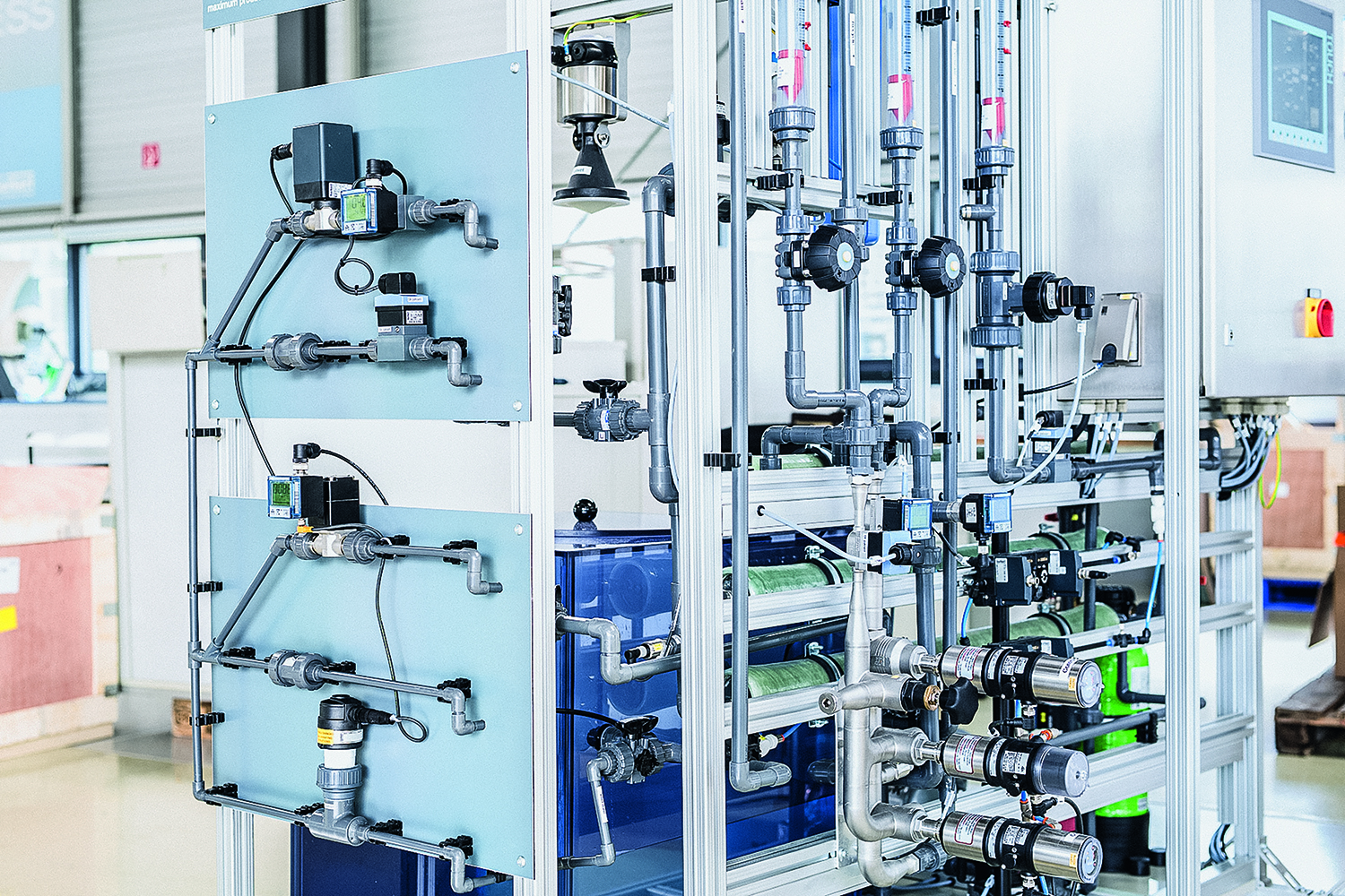 Improving process water quality through automation