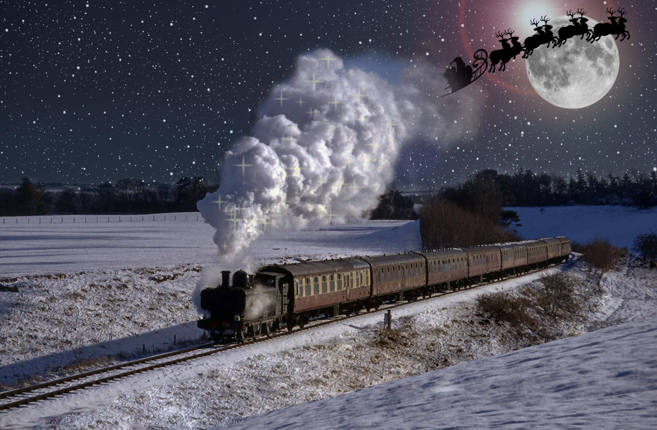 Barnshaws keeps the Polar Express running