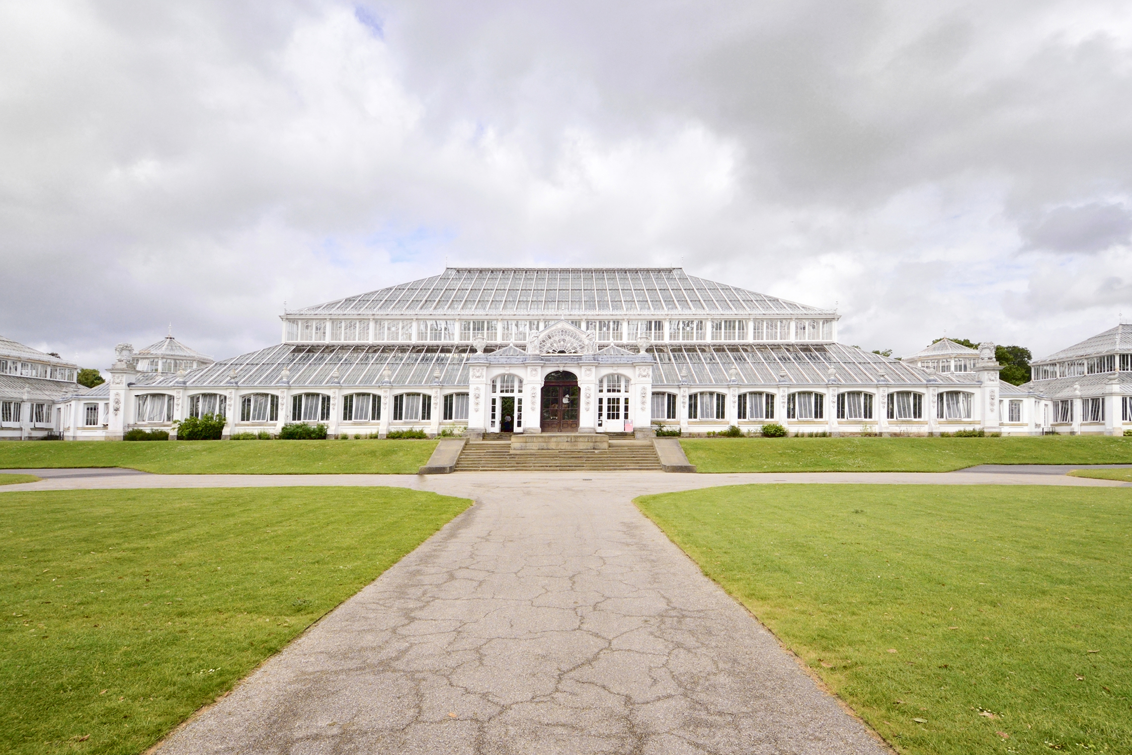 Kew Gardens reopening spurs memories of Barnshaws' Palm House renovation