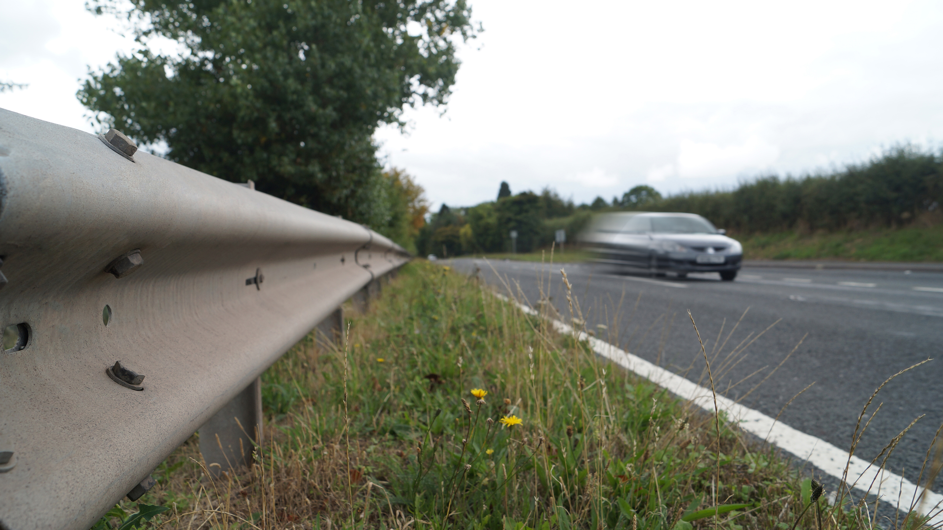 Curved Armco from Barnshaws keeps civil projects on the road