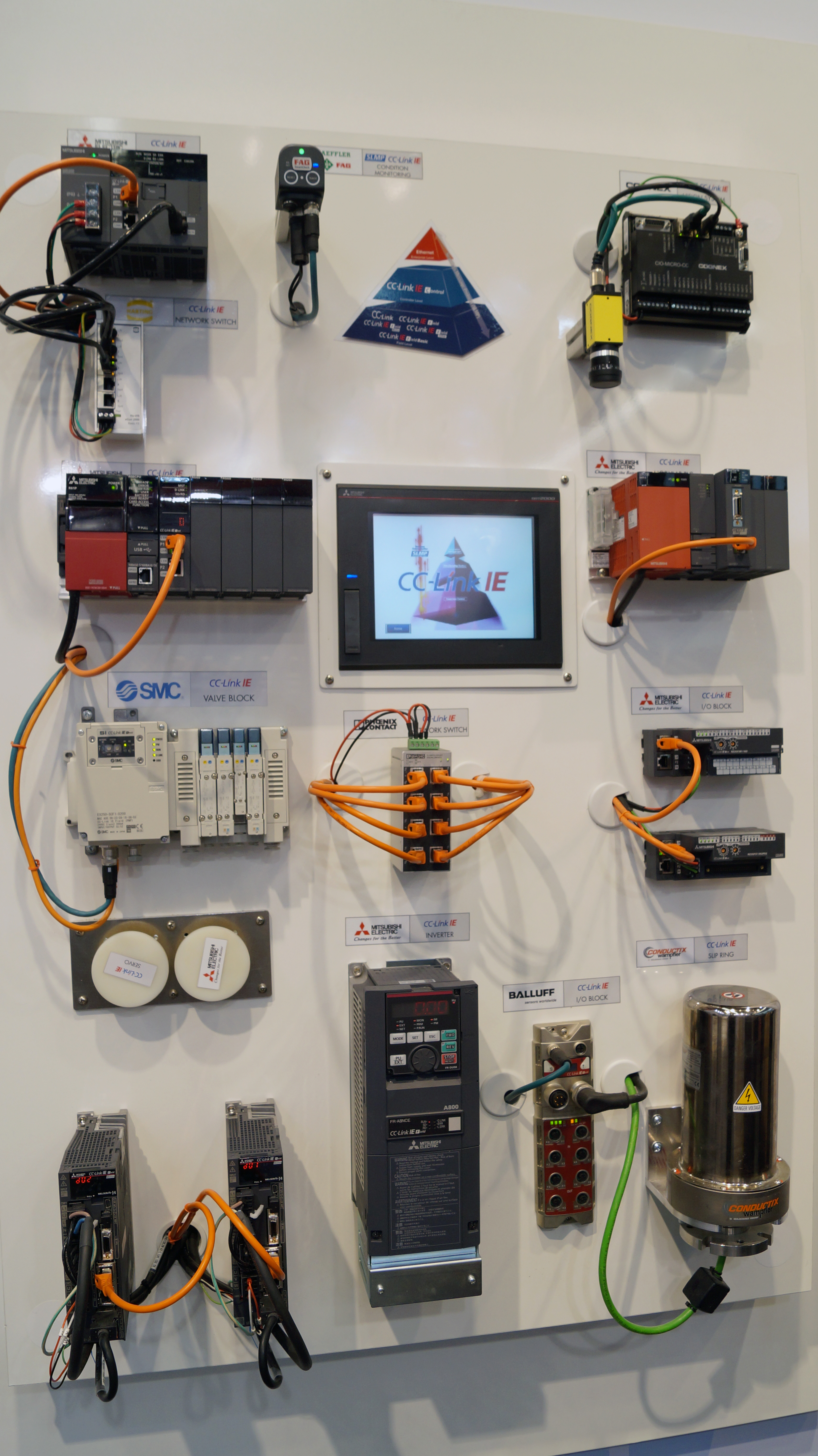Mitsubishi Electric highlights CC-Link IE as the perfect network choice for Industry 4.0