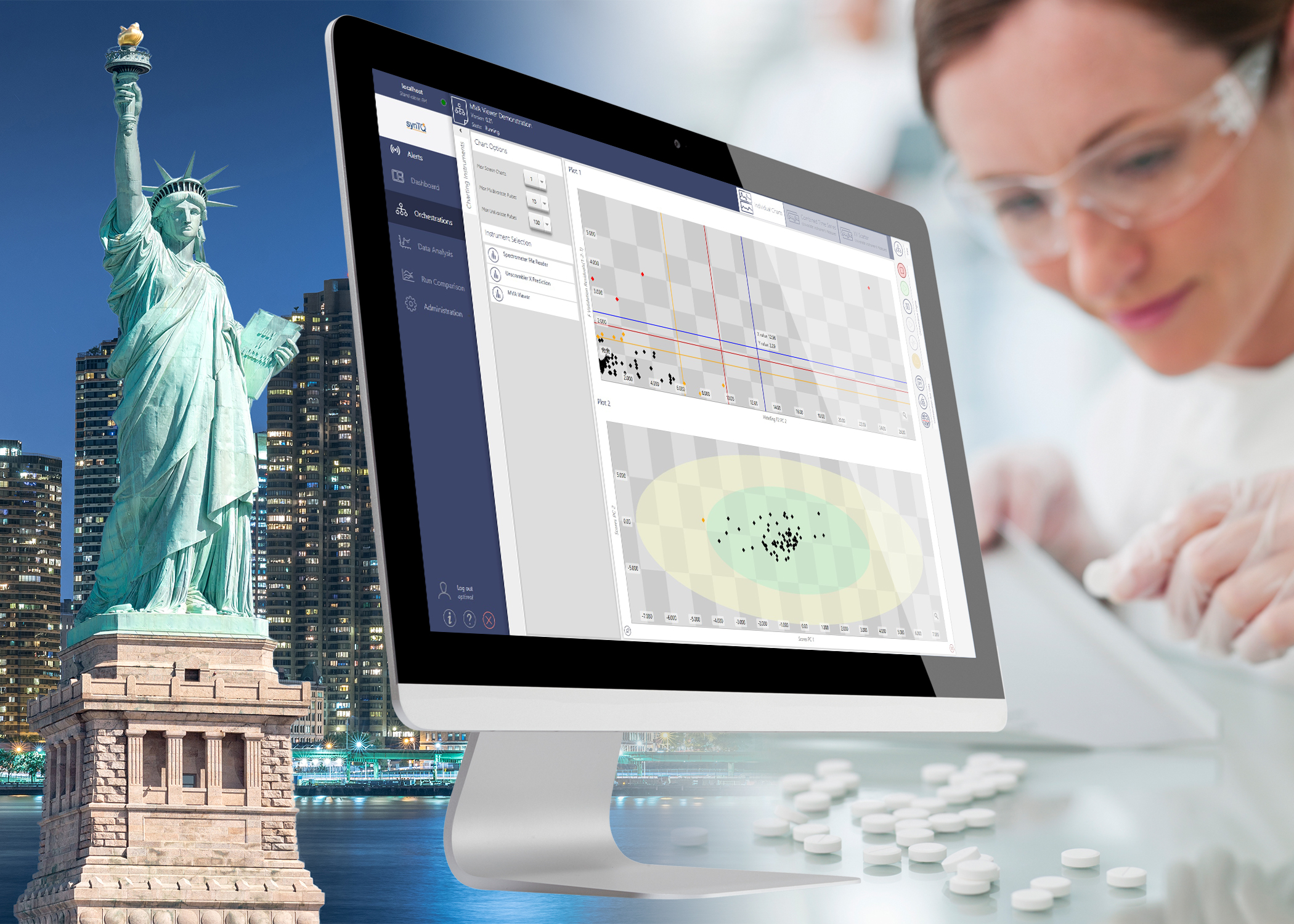 Optimal Industrial Technologies showcases developments in its Process Analytical Technology (PAT) knowledge management platform synTQ at Interphex 2018
