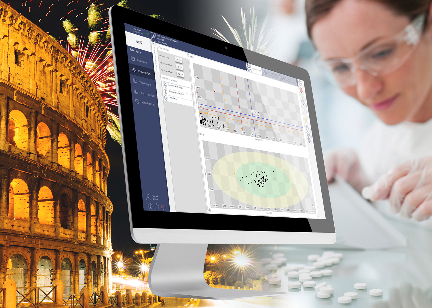 Production optimisation software for next-generation materials on show at CPAC Rome Workshop 2018