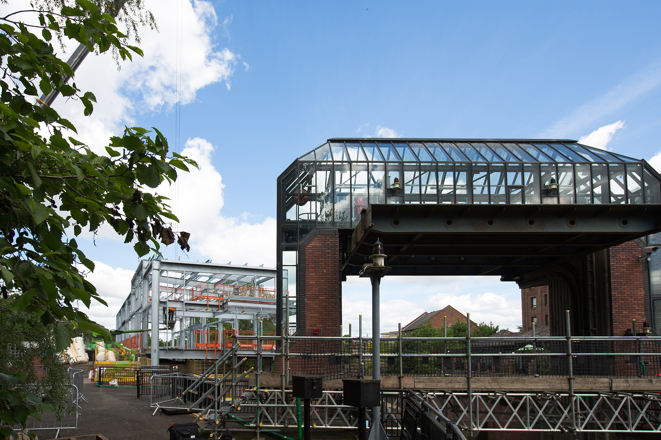 ECS fabricated steel in place to protect York city centre from flooding