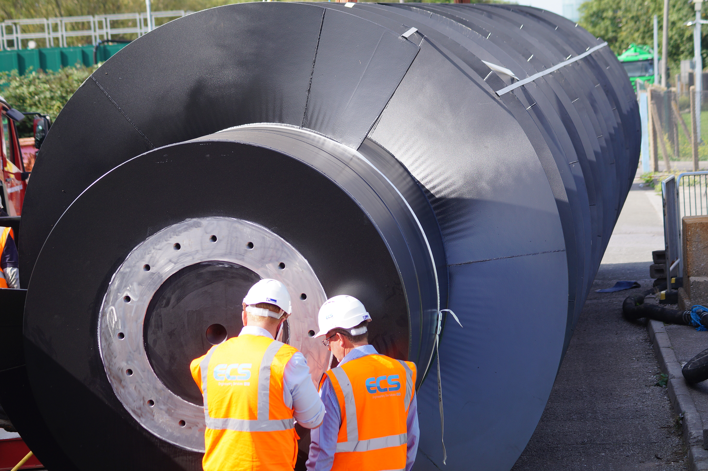 ECS refurbishes giant screw pump to keep sewage works operating for decades