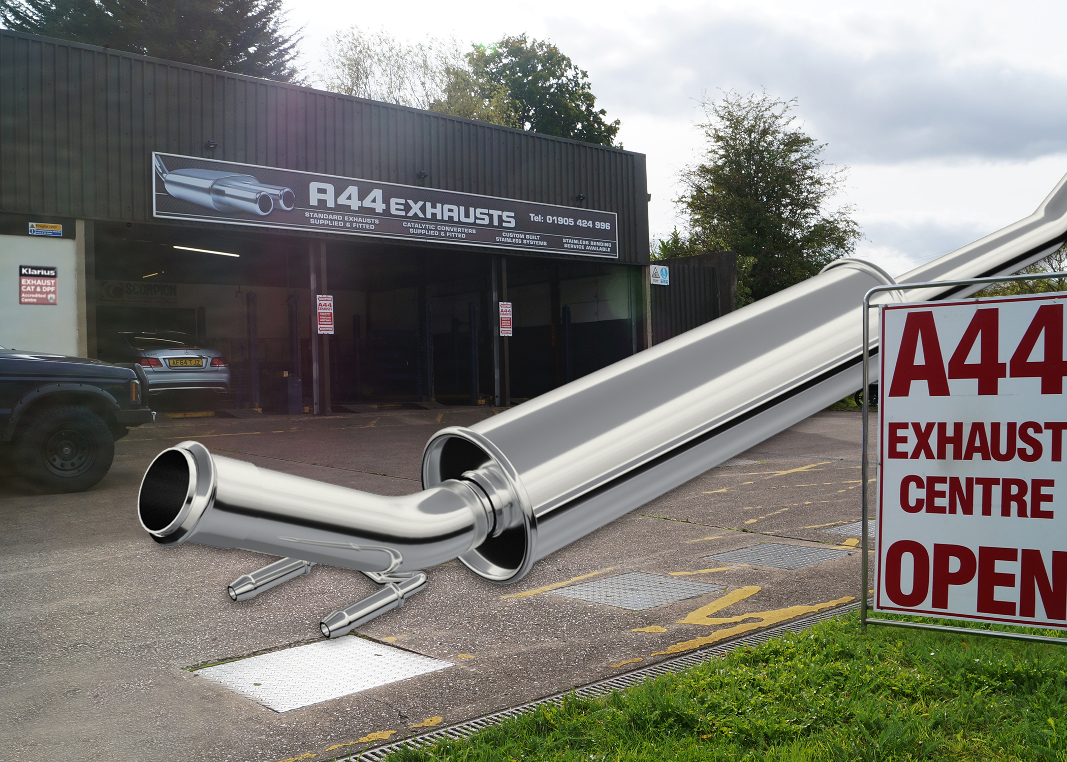 A44 Exhaust Centre teams up with Exhausts-Direct.net for emissions excellence