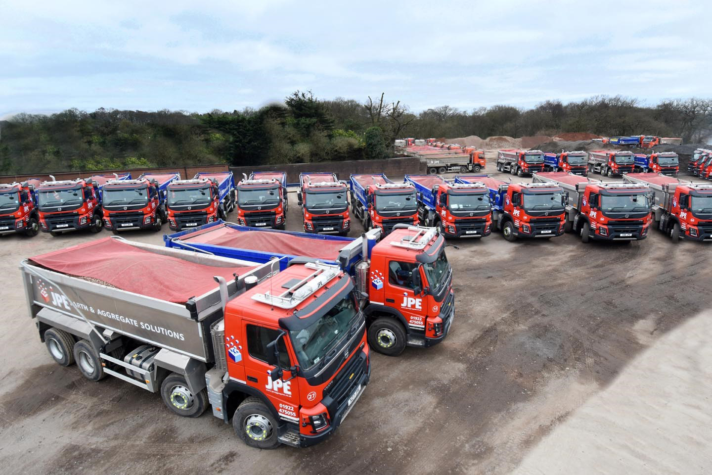 JPE Aggregates turns to Edbro cylinders for improved tipping performance