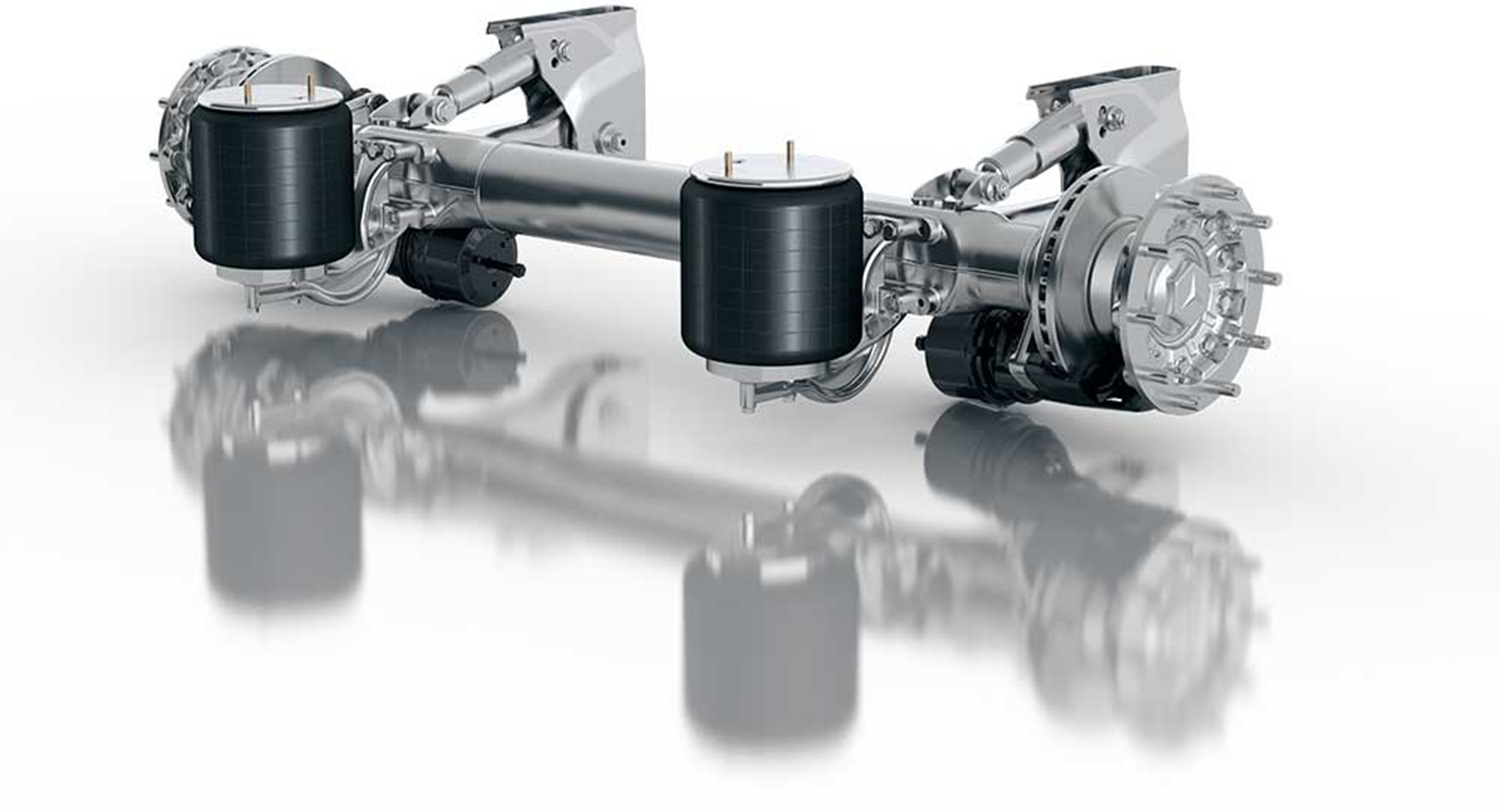 Major fleet upgrade centred on JOST Axle Systems