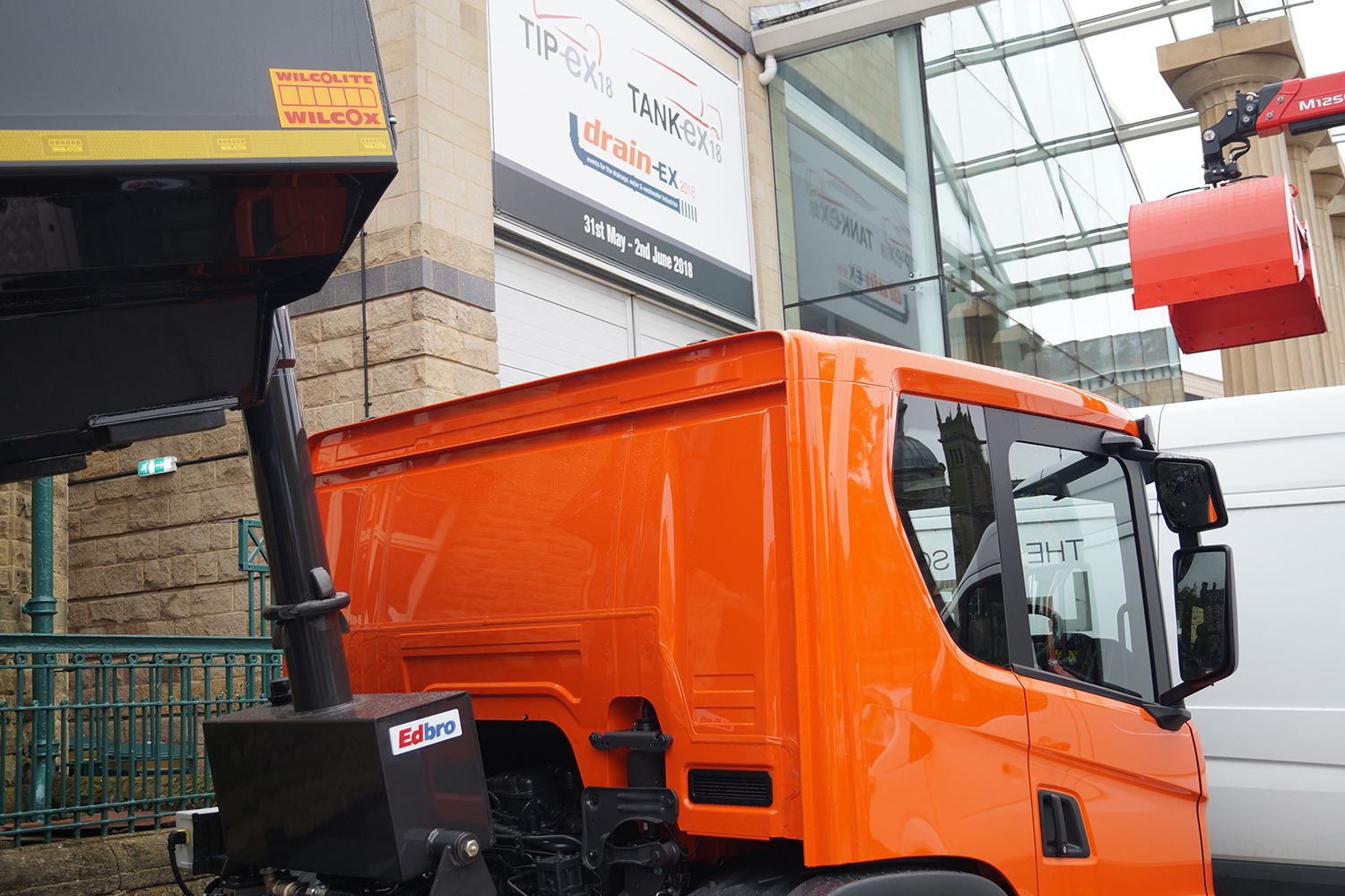 JOST components lead the way at Tip-Ex 2018