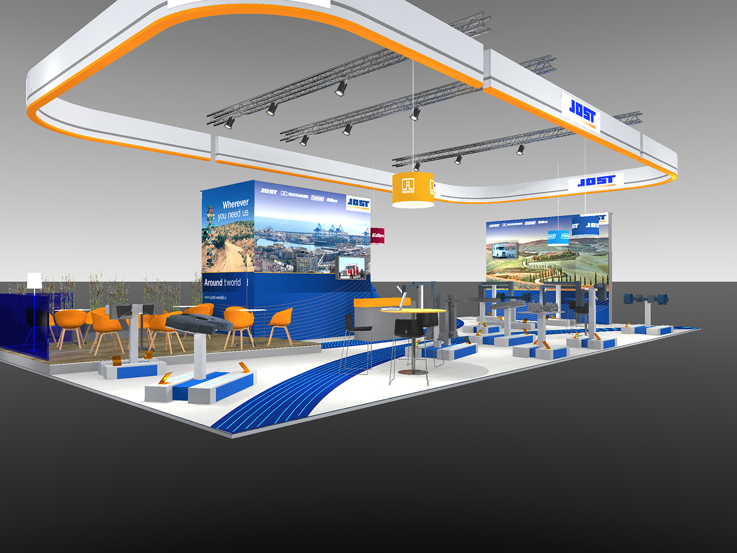 JOST presents technical solutions and customer services at CV Show
