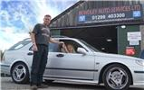Saab 9-5 Aero owner enjoys quality local repair via Exhausts-Direct