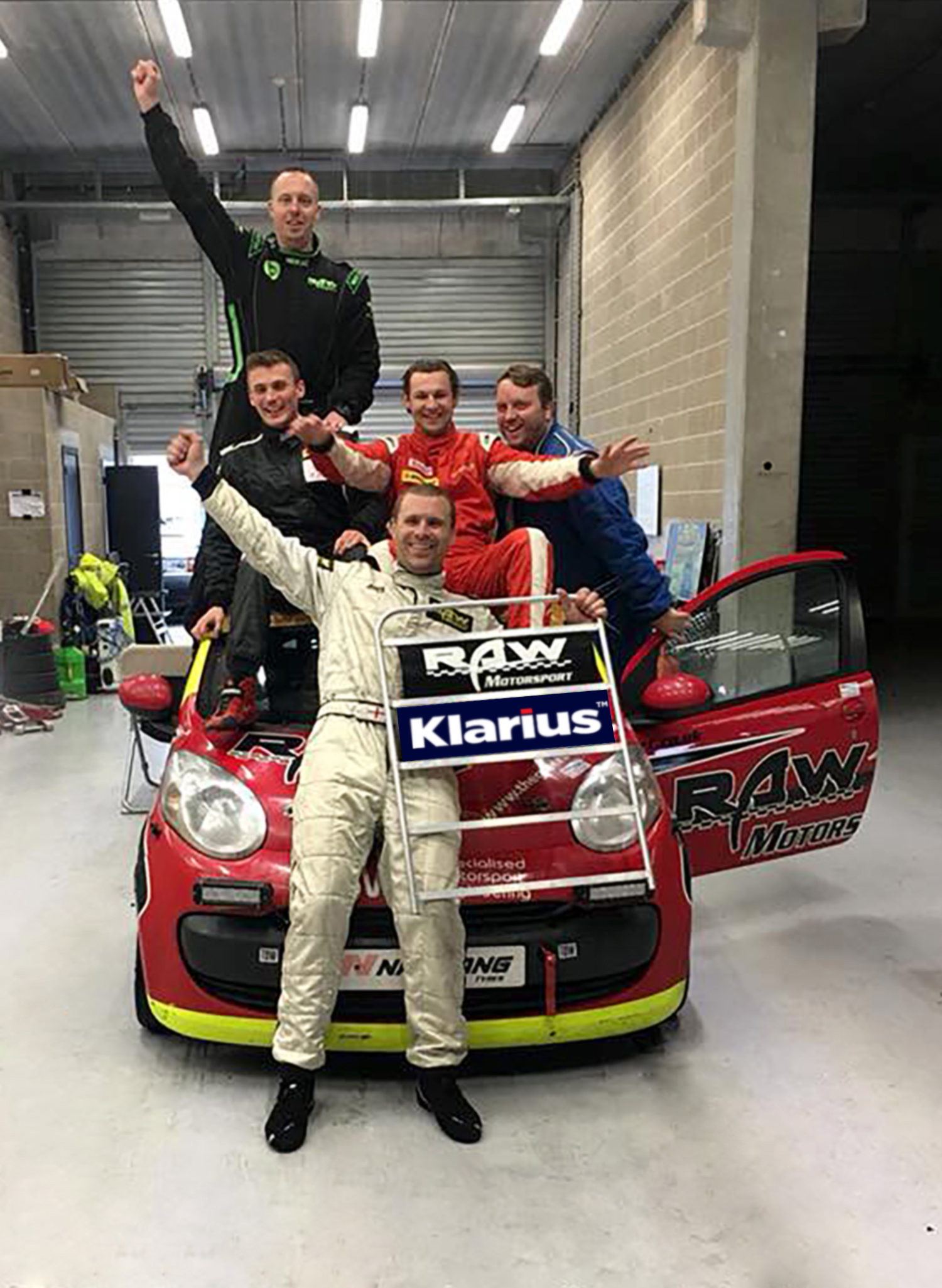 Klarius supports Citroen C1 Endurance Race with exhaust systems