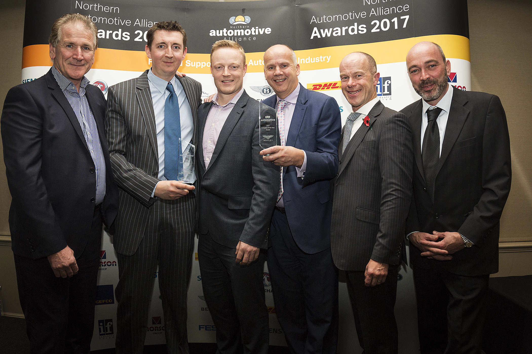Klarius wins Company of the Year Award 2017, sponsored by Bentley Motors Ltd