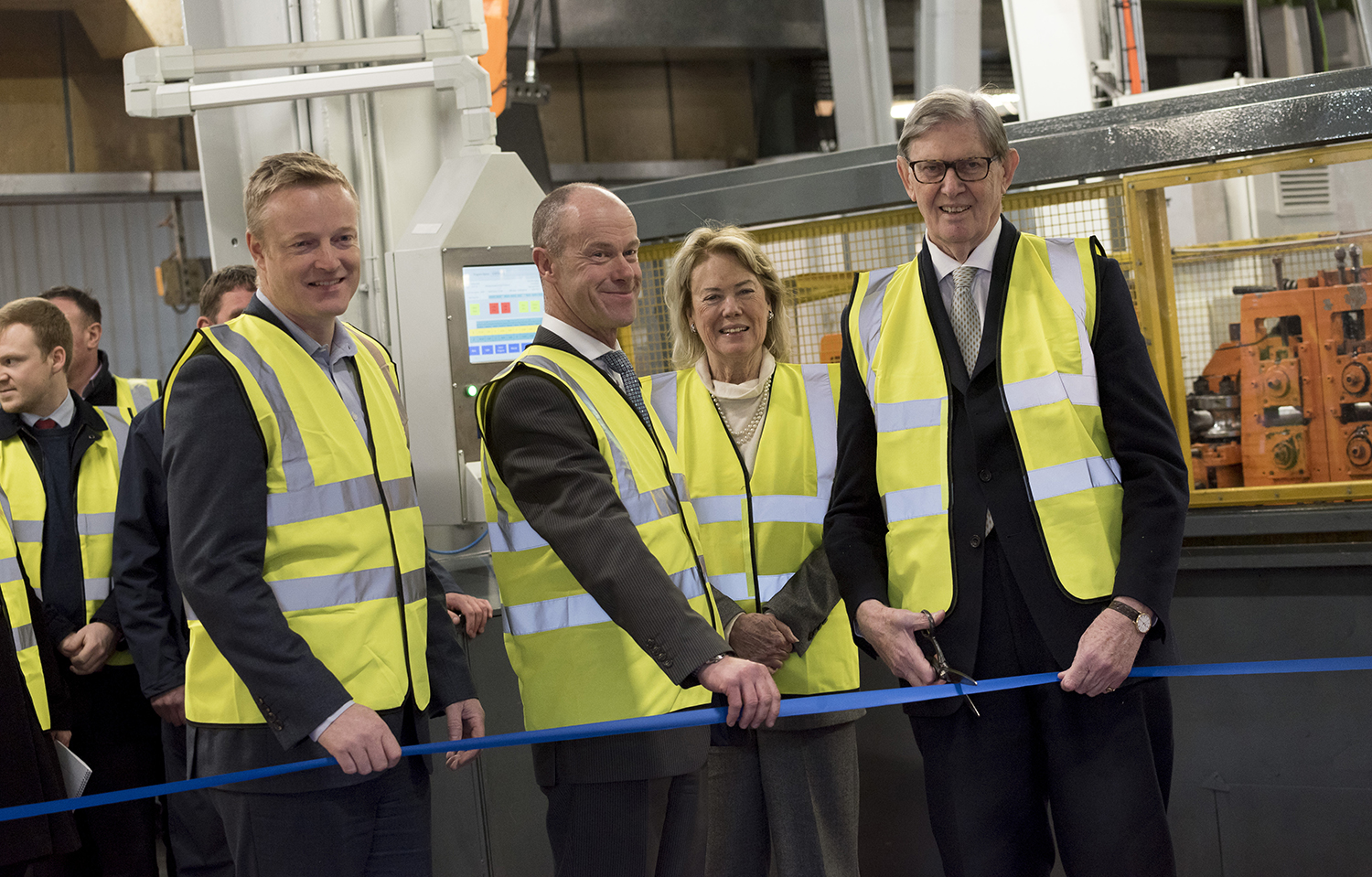 Sir Bill Cash MP opens £1million investment at Klarius