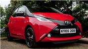 Aygo with Klarius for latest exhausts and mountings