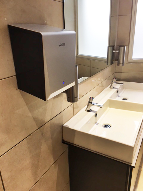 Building Centre gets smart with hand drying