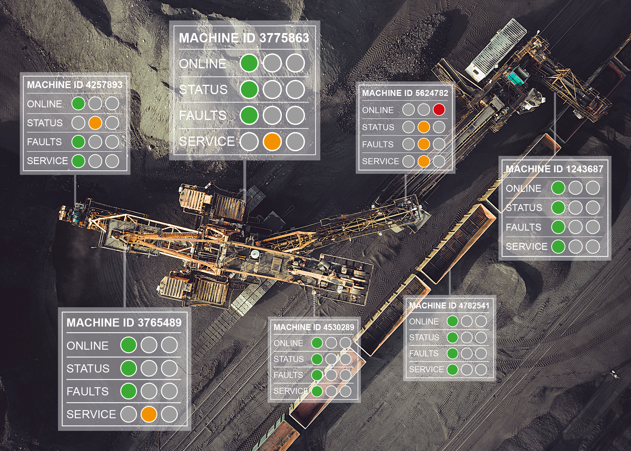 Energy saving in mines and quarries