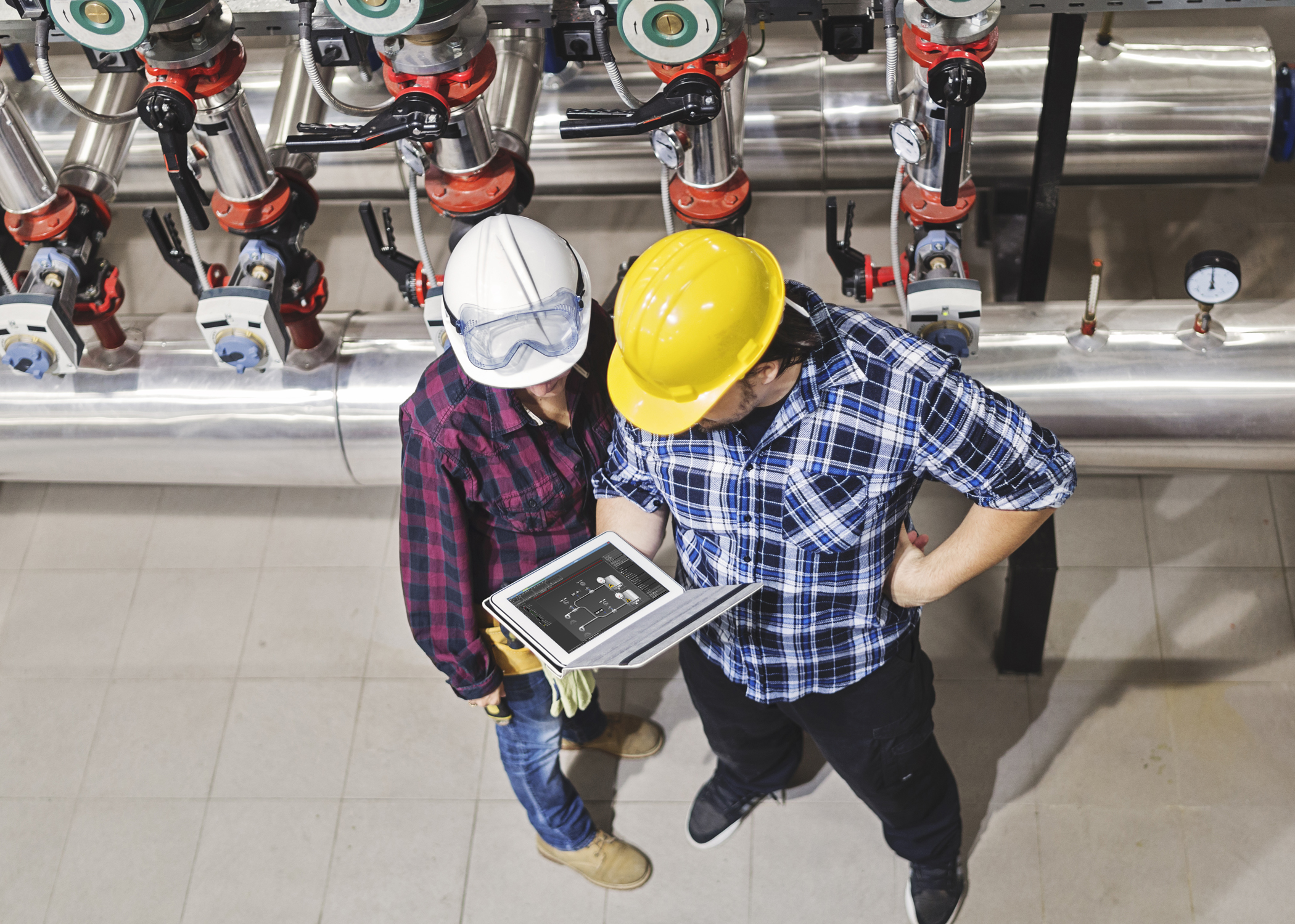 Smartphones changing the face of industrial control