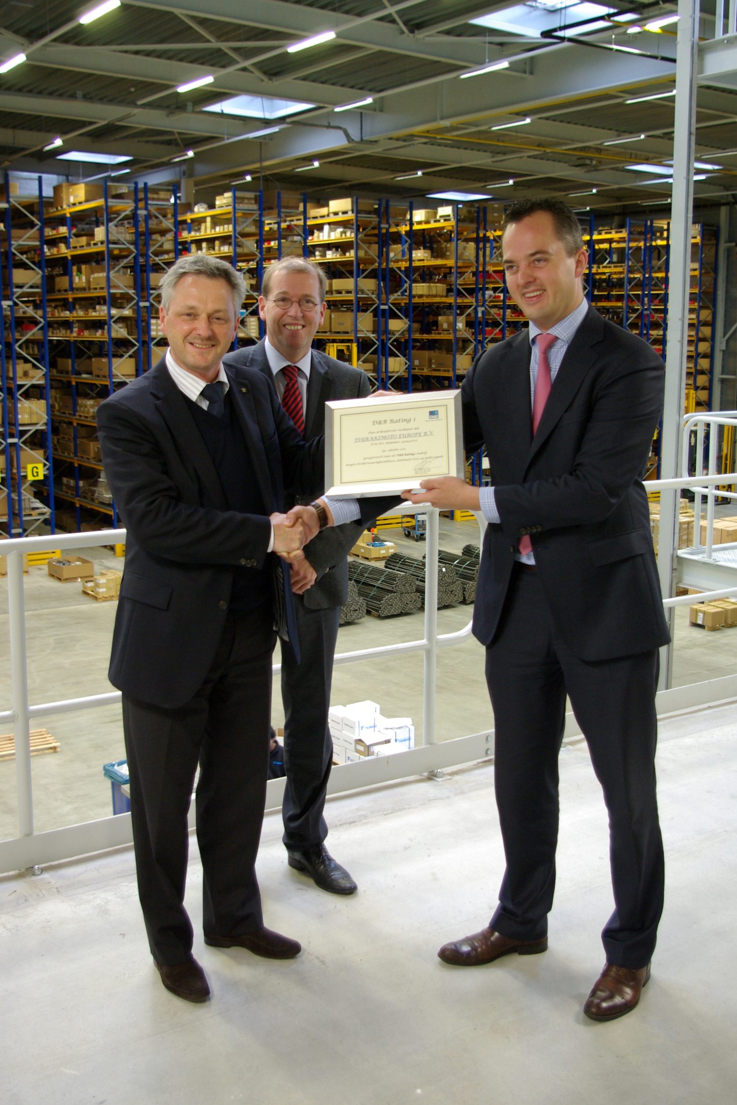 Tsubaki Europe awarded the highest level of creditworthiness by Dun & Bradstreet