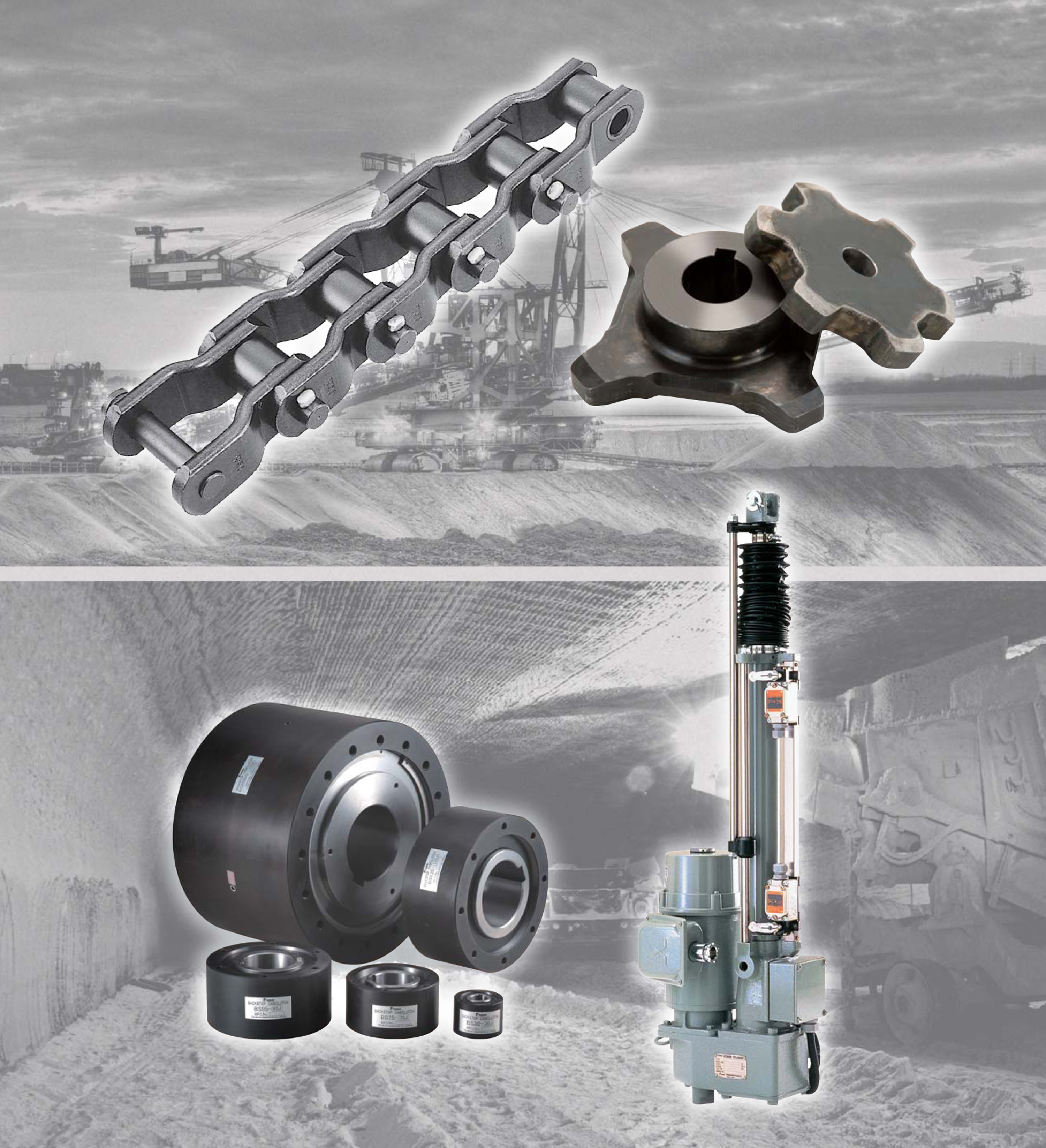 Drive components for the mining industry