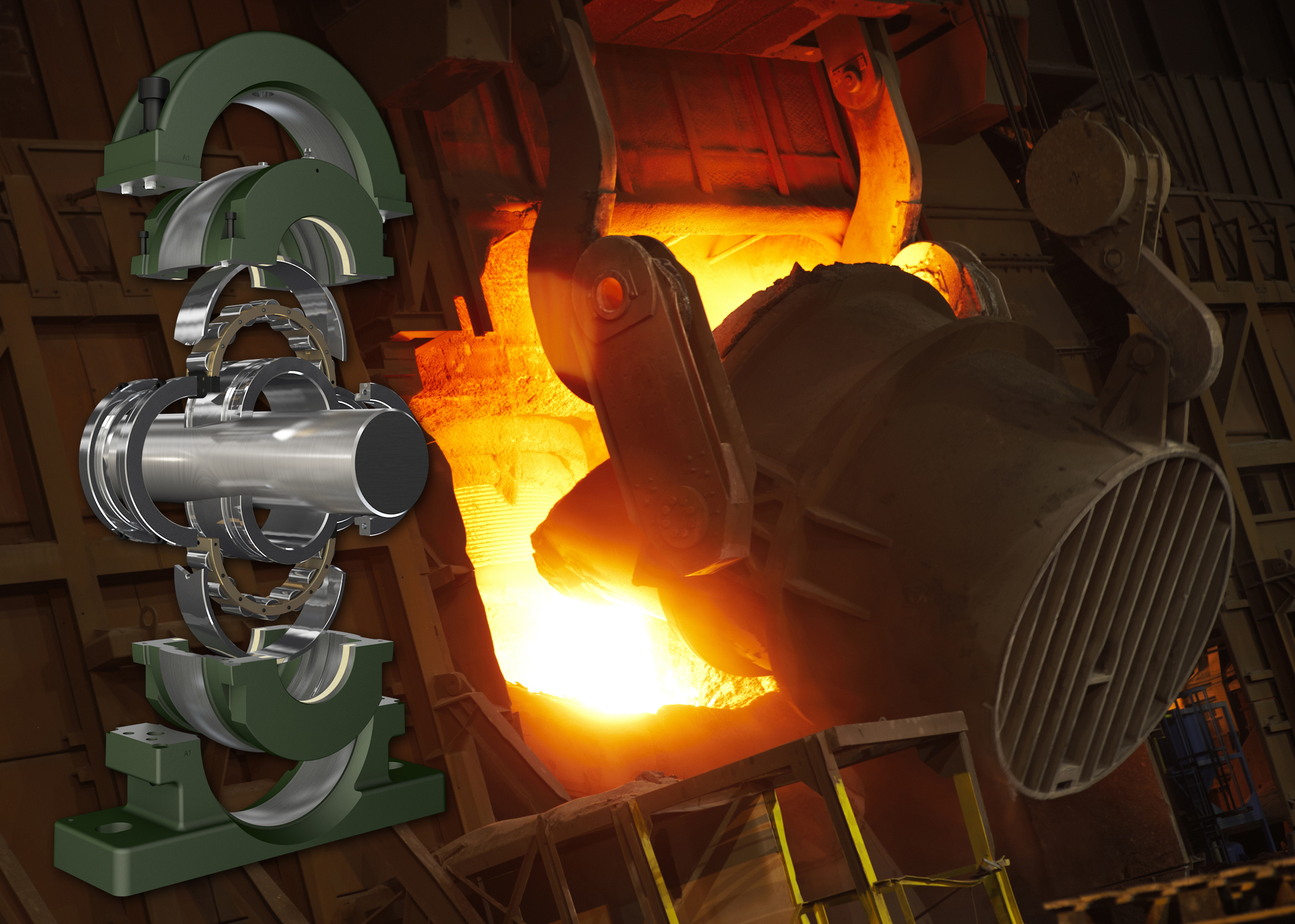 Revolvo slashes downtime at steel mill