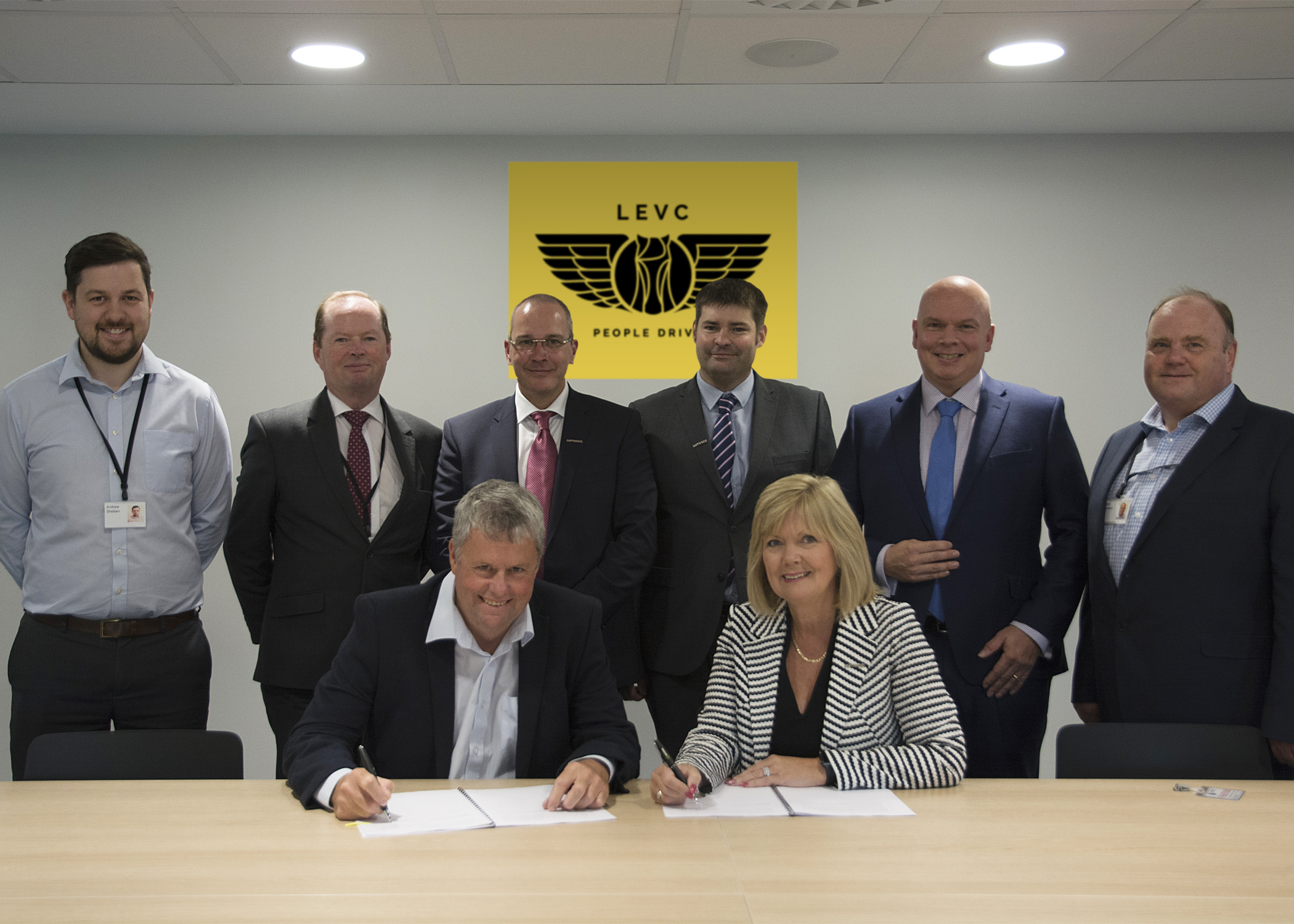 Optimas and LEVC sign long-term agreement to support production of new TX Electric Taxi