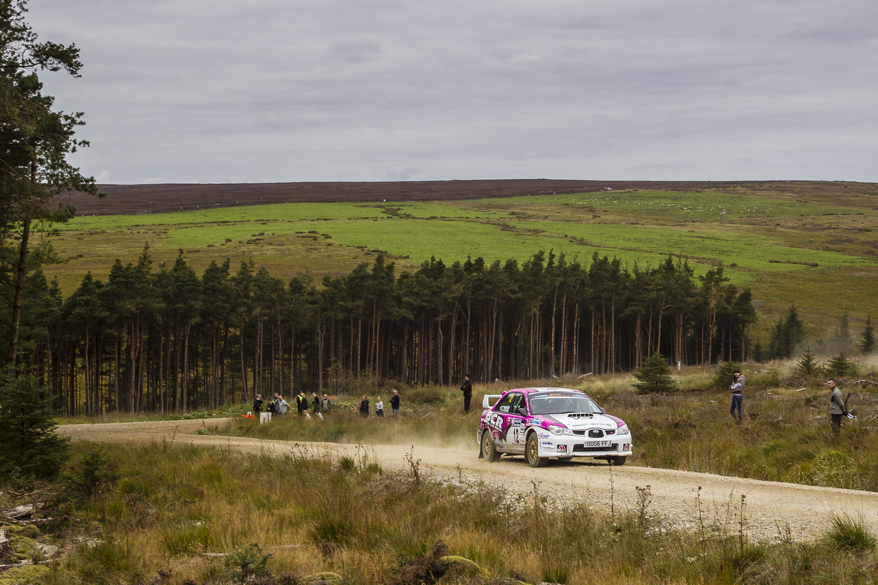 Sara Williams turns up the heat at the Trackrod Forest Stages 2015