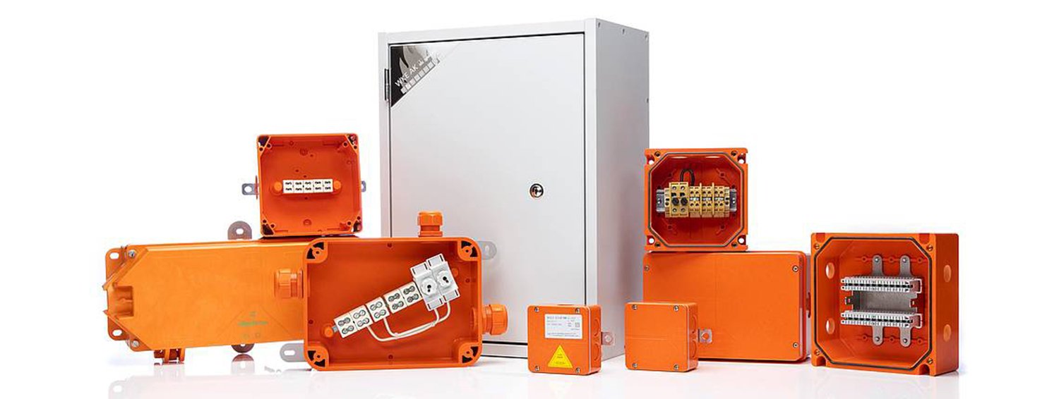 Spelsberg's fire protection enclosures contribute to the safety of Limbecker Platz mall
