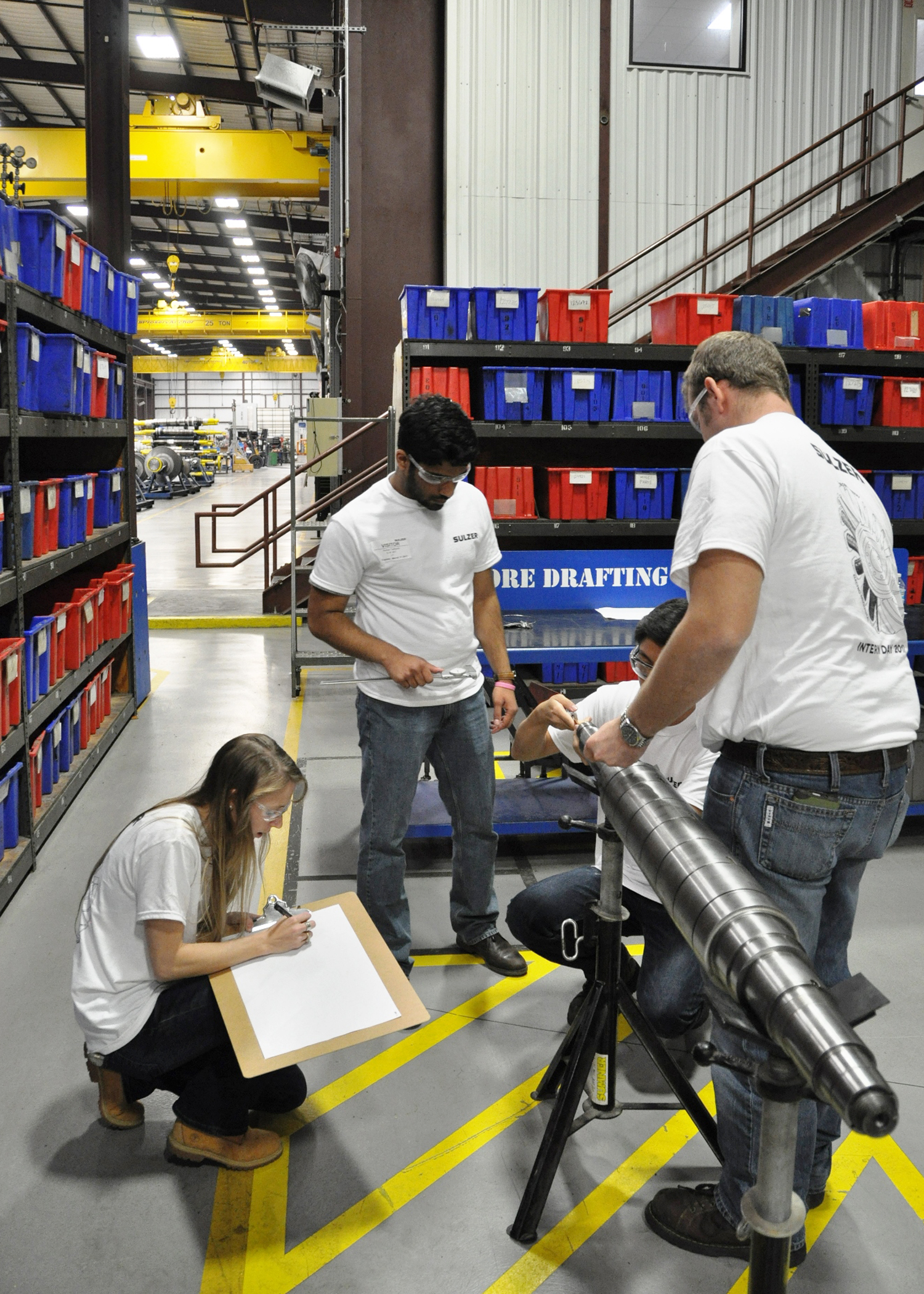Sulzer finds the newest engineering talent with summer intern program