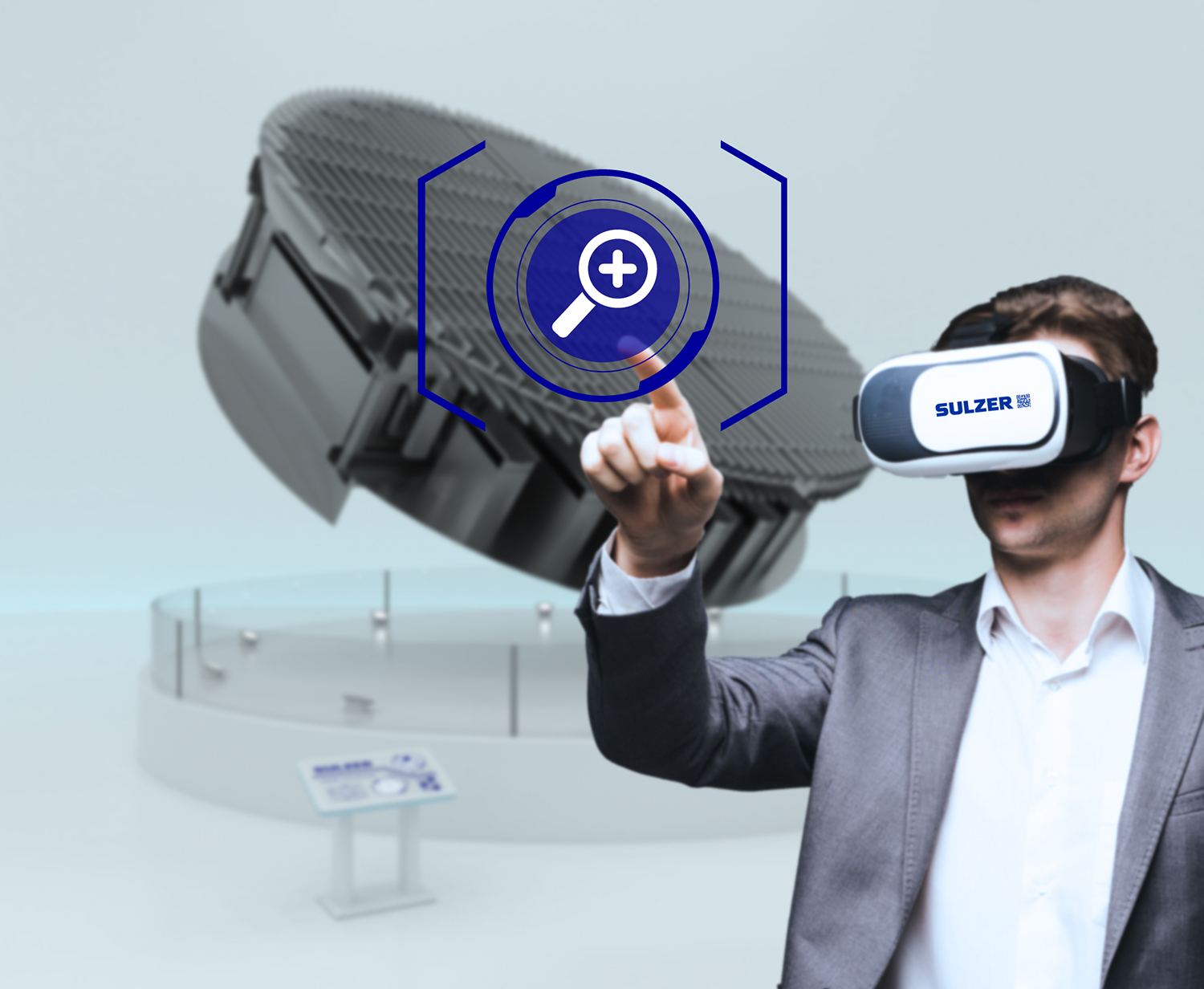 Sulzer introduces AR/VR at ACHEMA 2018