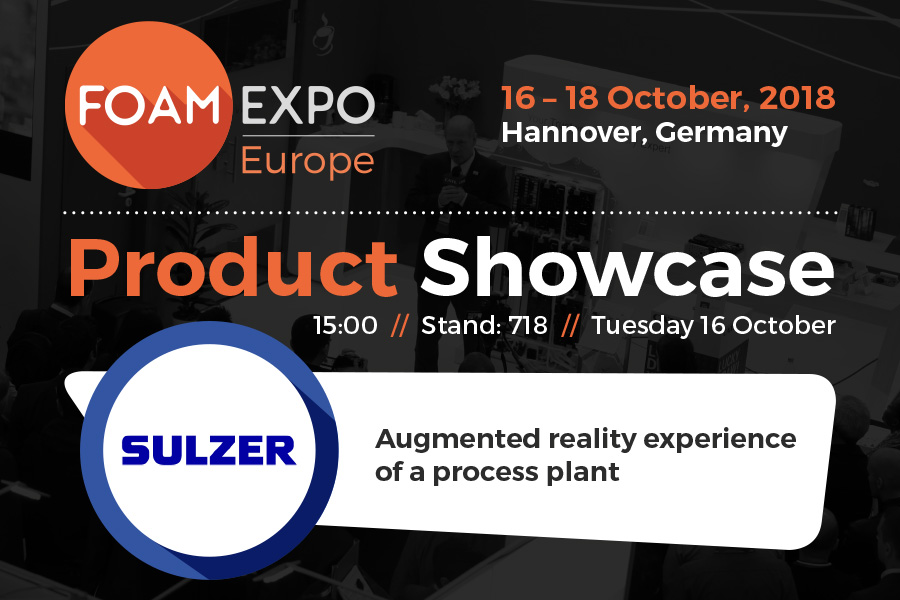 Discover how to boost polymer foam production with Sulzer Chemtech's extrusion equipment
