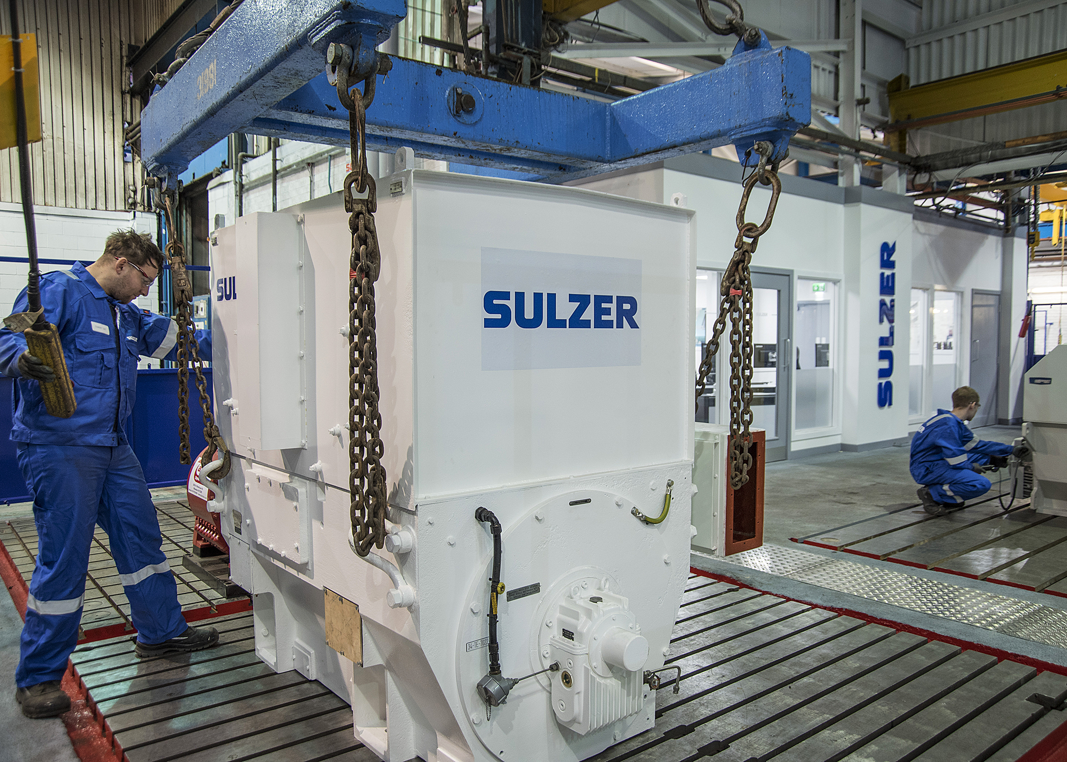 Sulzer doubles capacity of high voltage testing to improve repair times