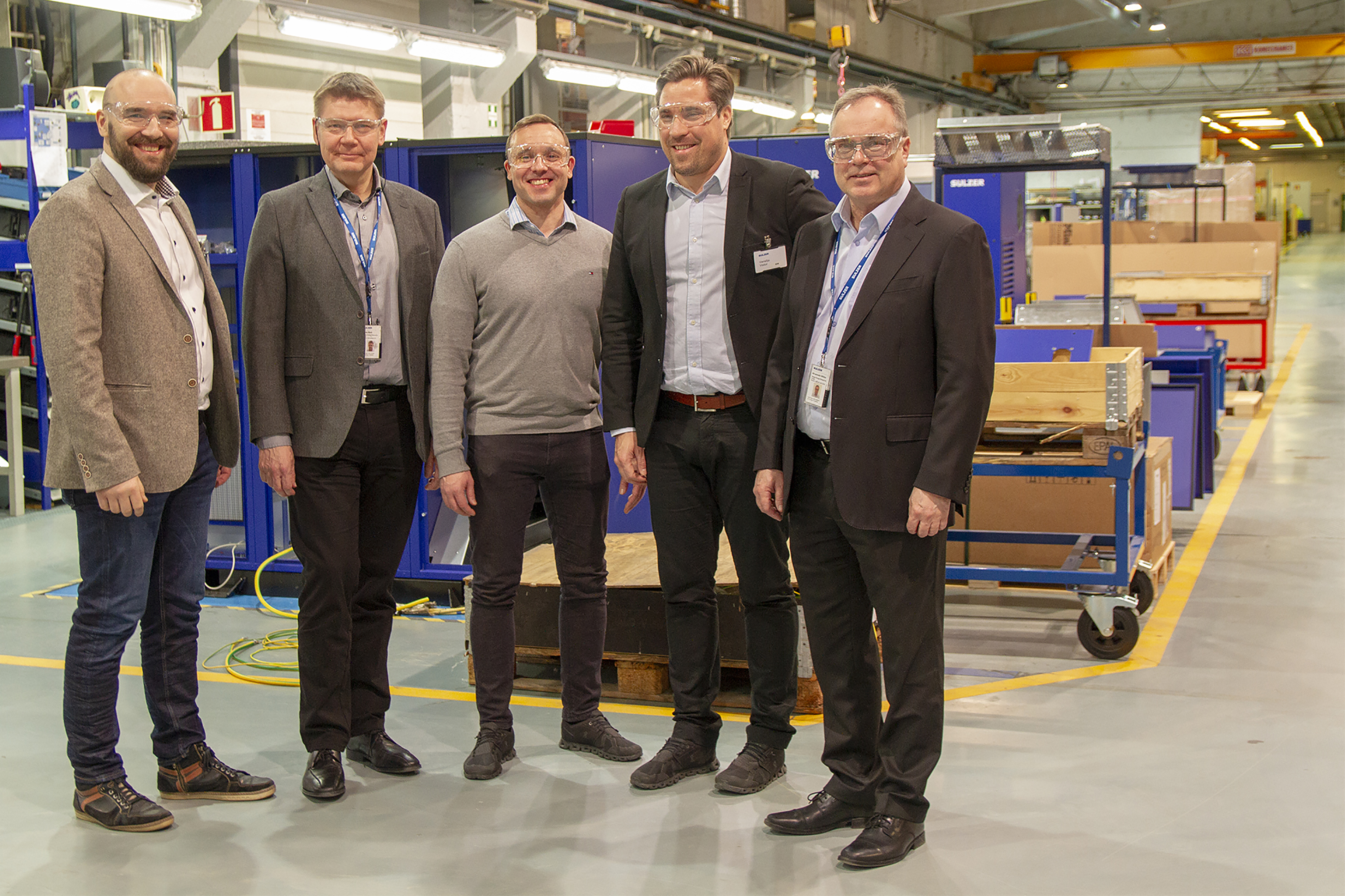 Sulzer and Tamturbo join forces in high-speed compression