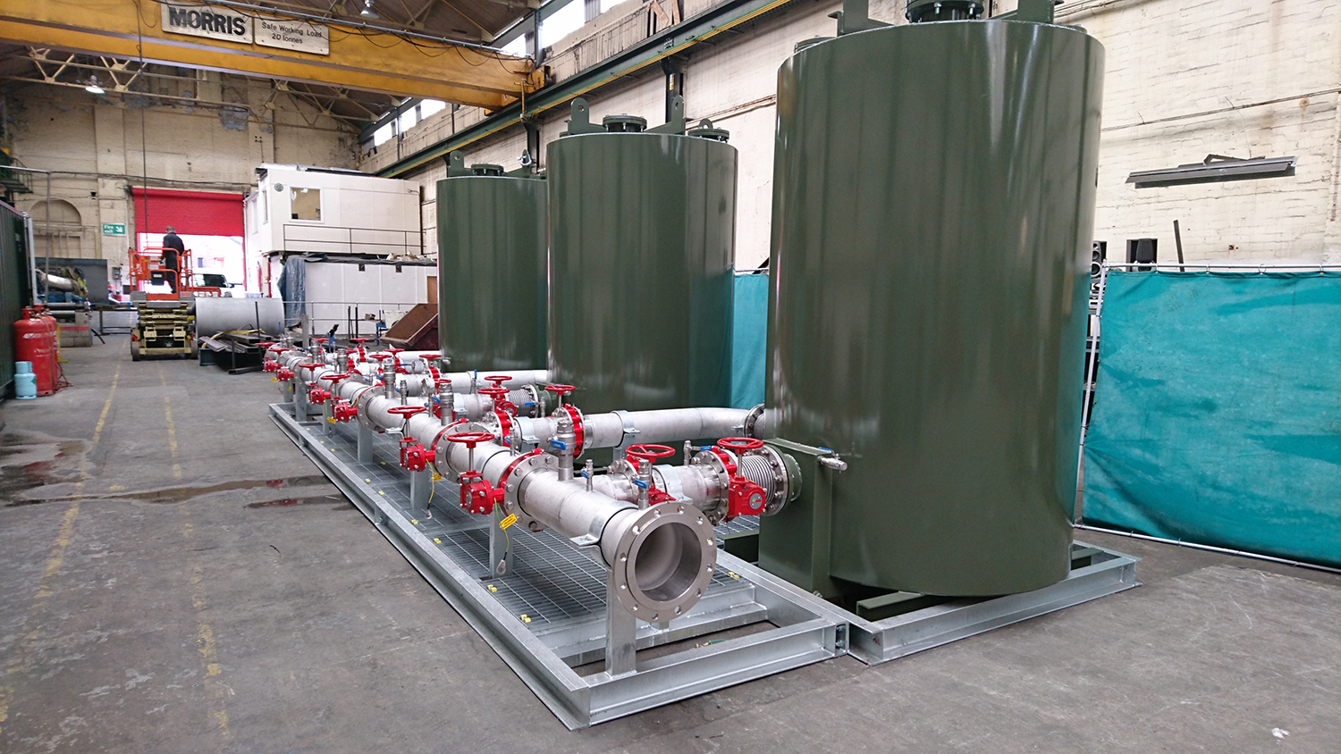 Custom purification system minimises downtime for Thames Water.