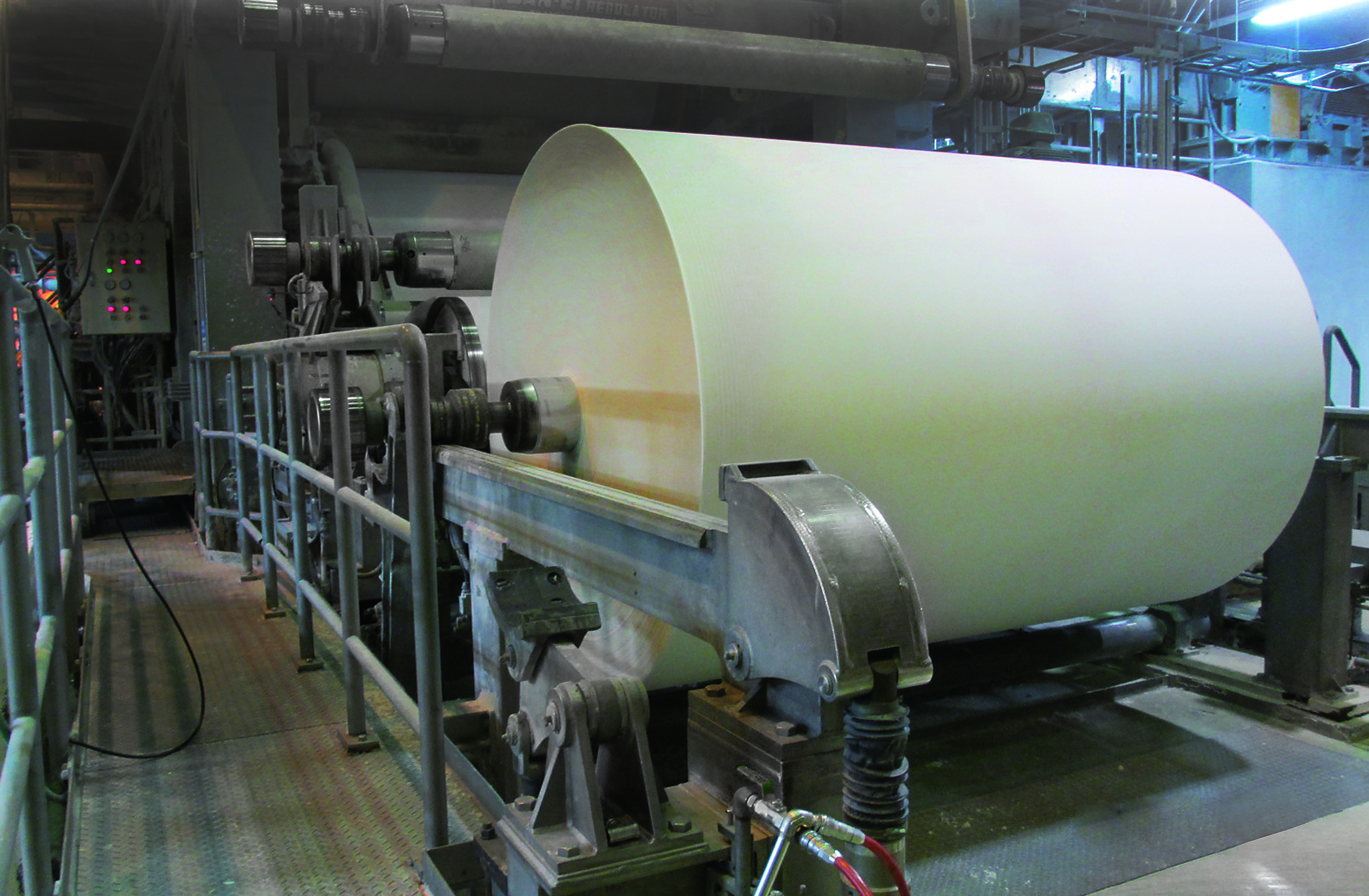 Tsubakimoto delivers power & performance to the Paper industry