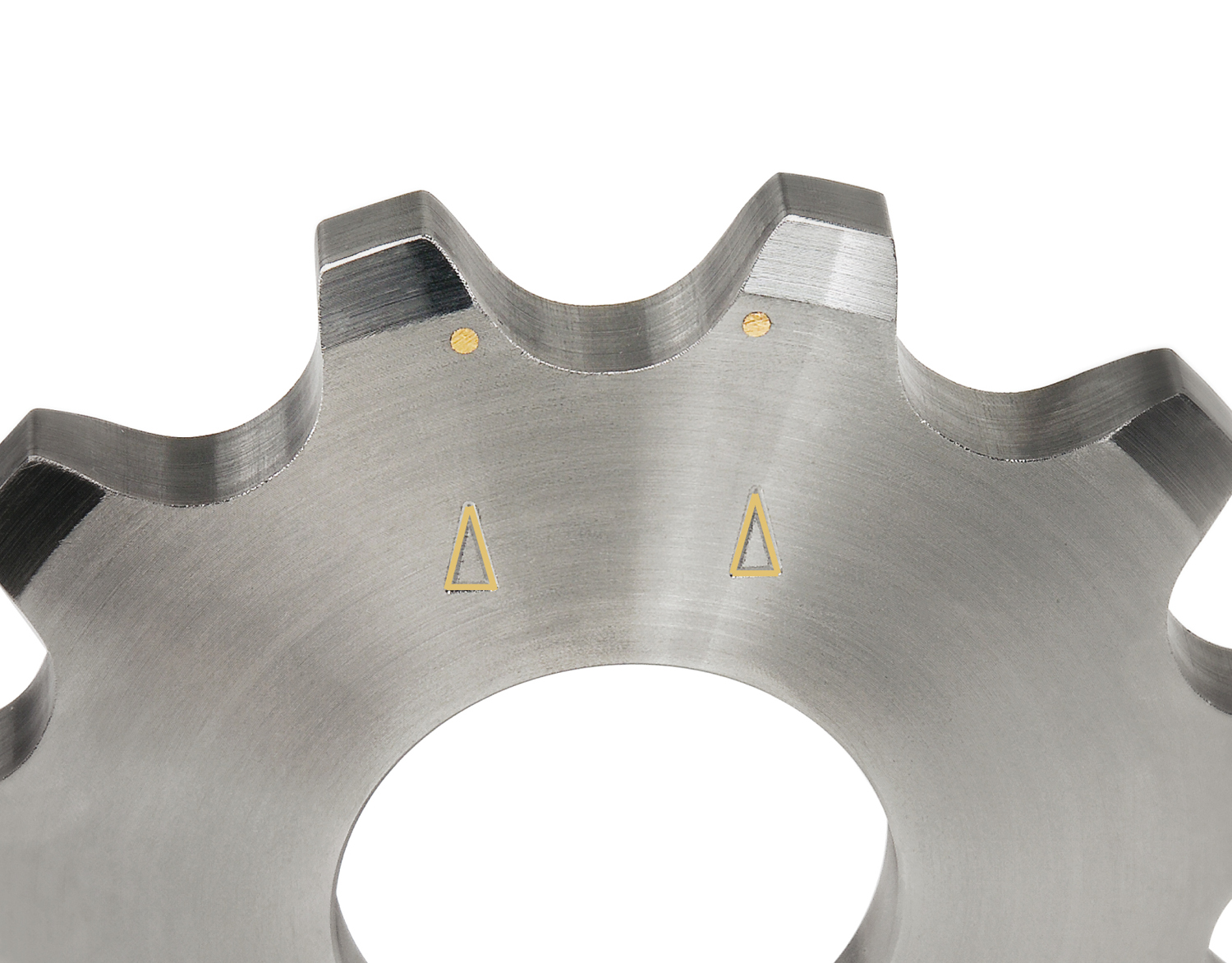 Patented wear indicator eliminates unscheduled downtime on large sprockets