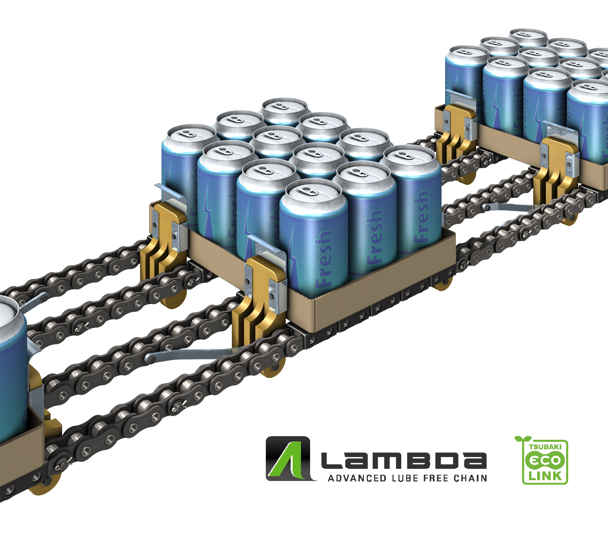 Tray packing chain offers unrivalled benefits to food and beverage industry