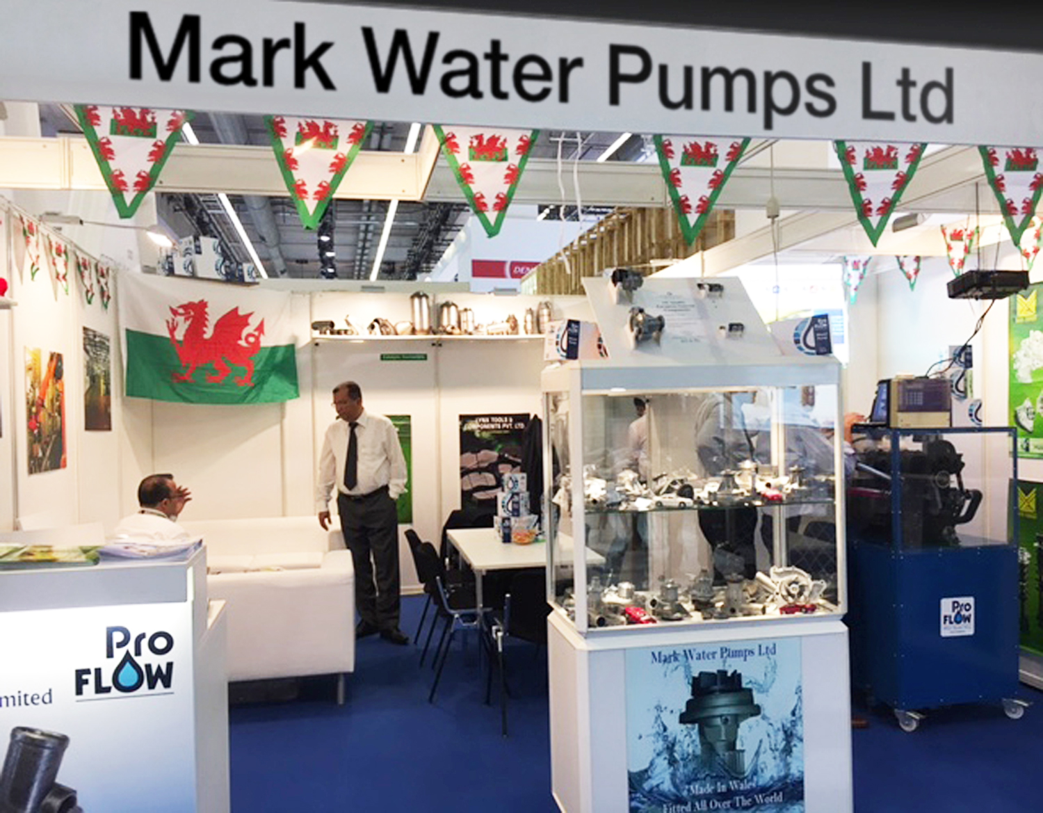 Mark Water Pumps reports successful Automechanika 2016