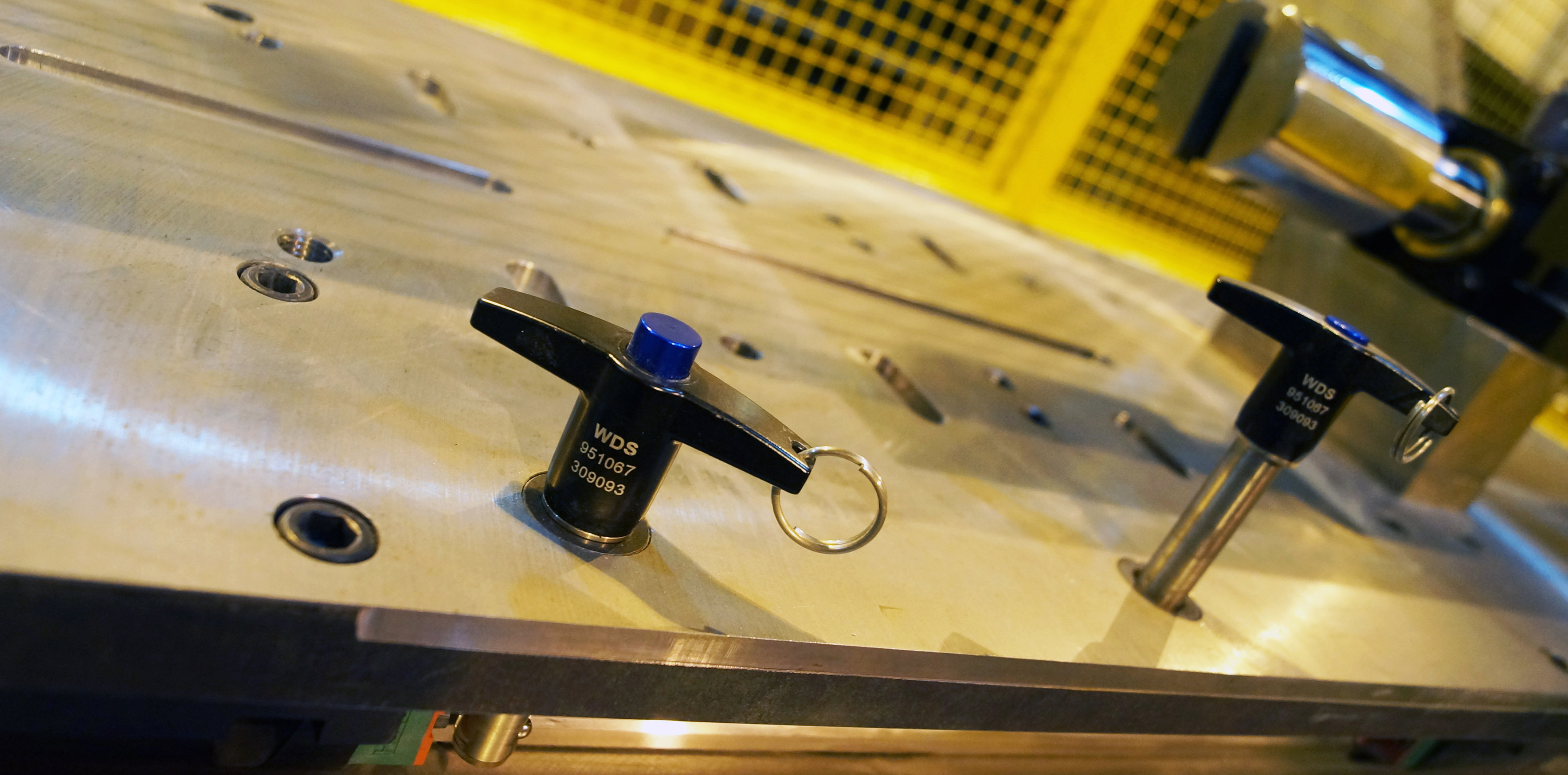 WDS Quick Release Pins specified for automotive production line