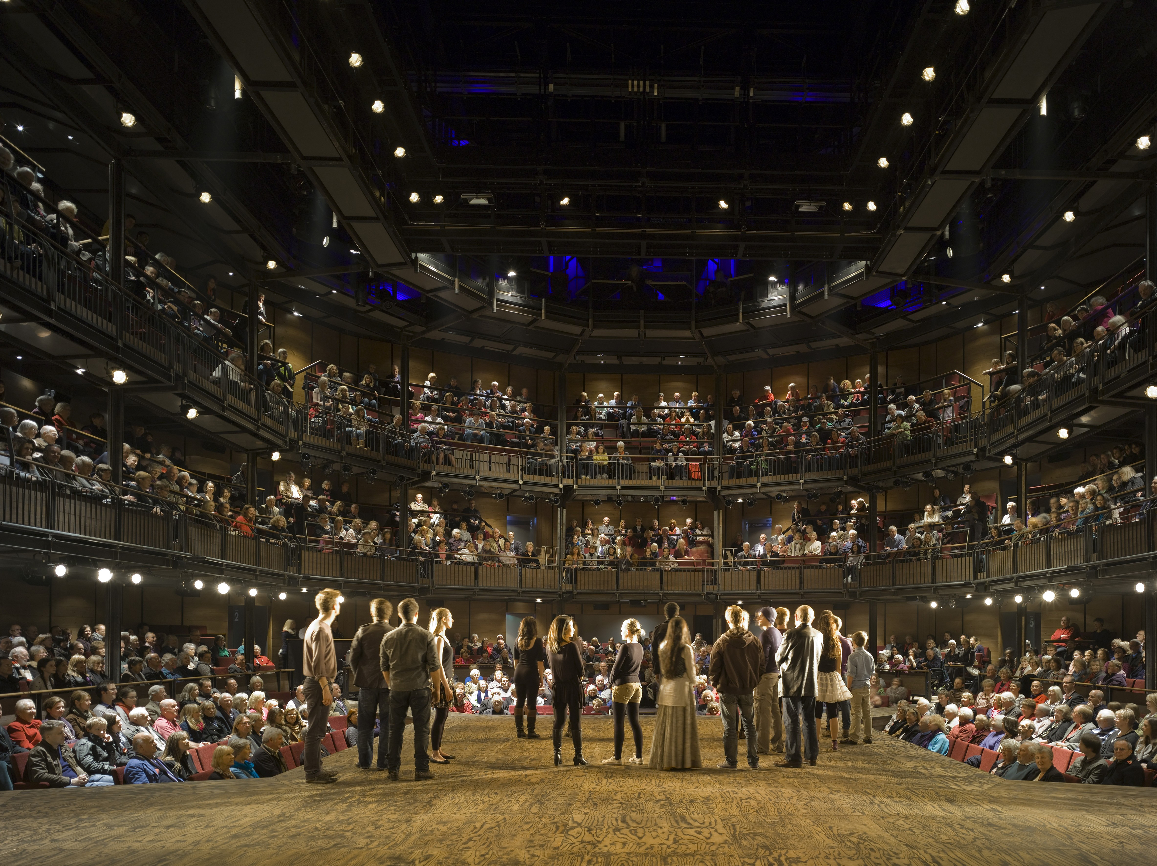 Back stage engineering keeps Shakespeare's magic ever-enthralling