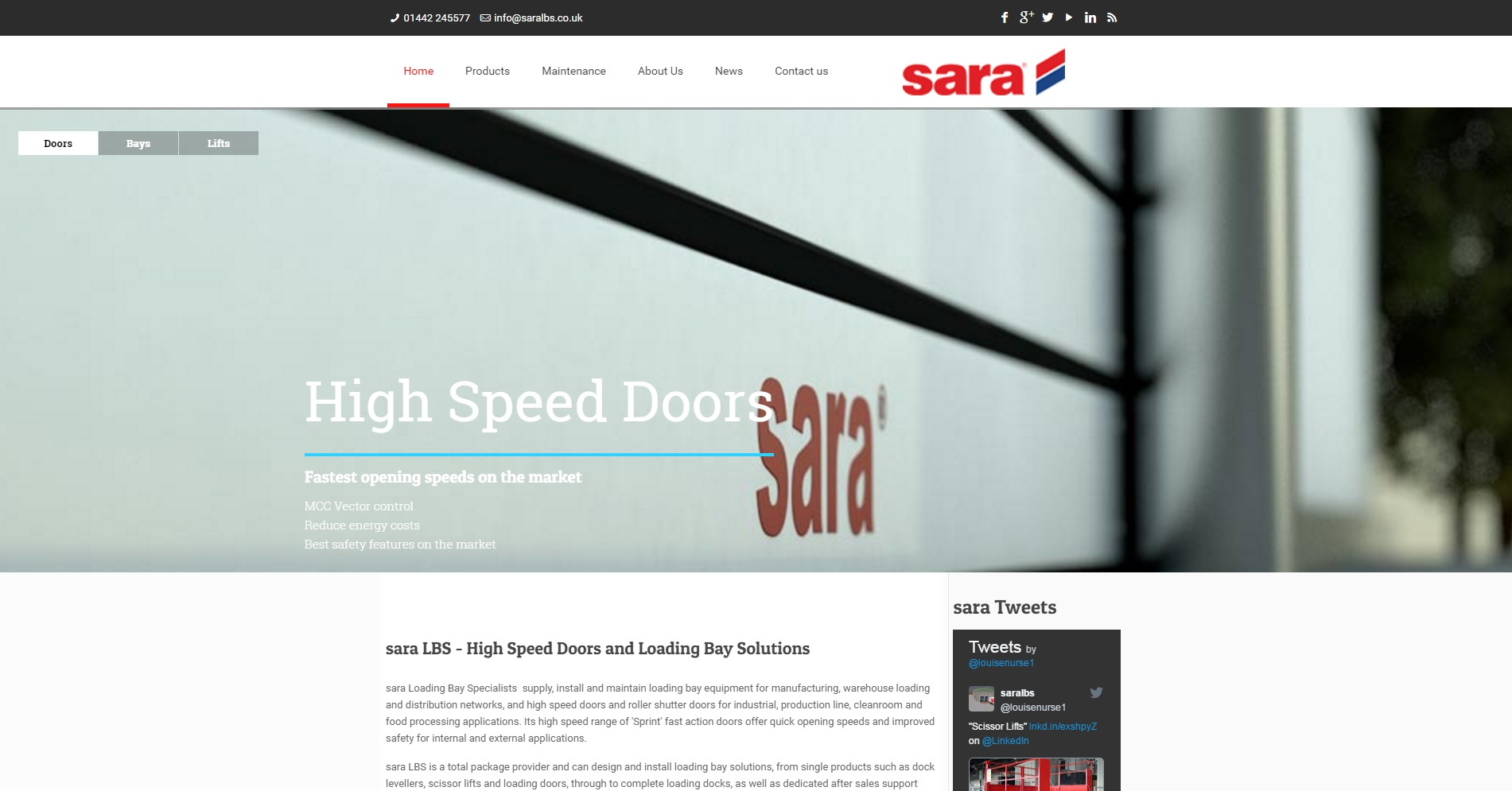 sara LBS launches new website for easy product searching and information download
