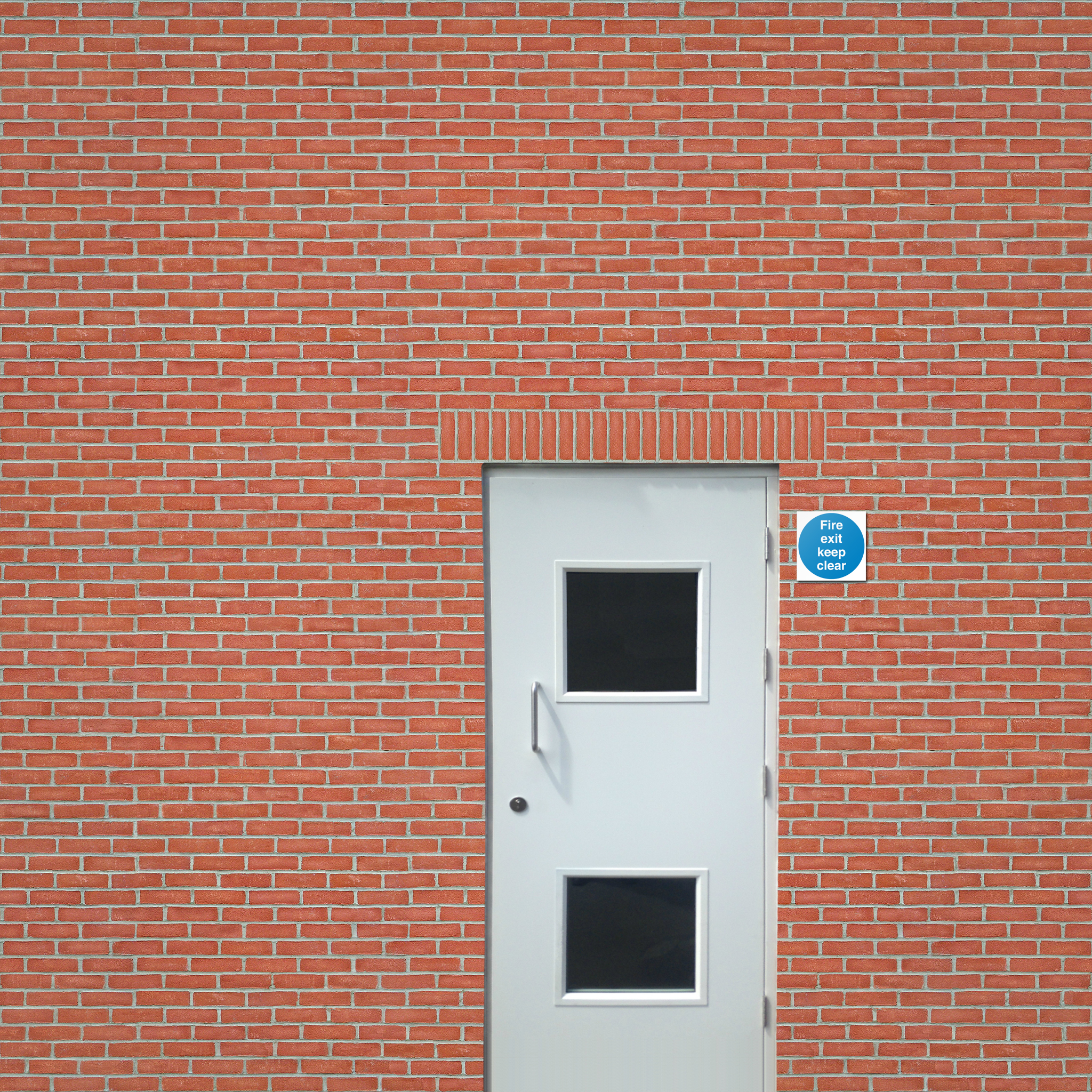 Steel doors combine security and fire safety