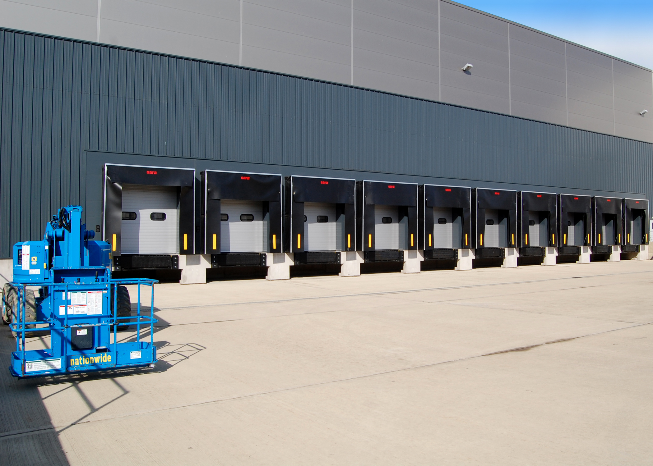Precast concrete can fast track installation of loading bays