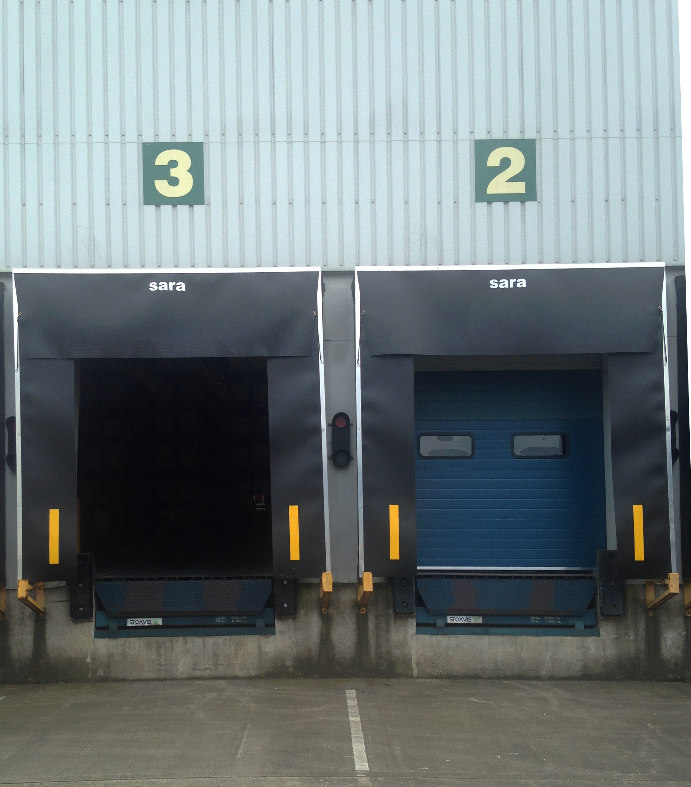 Dock shelters improve working environments and aid productivity