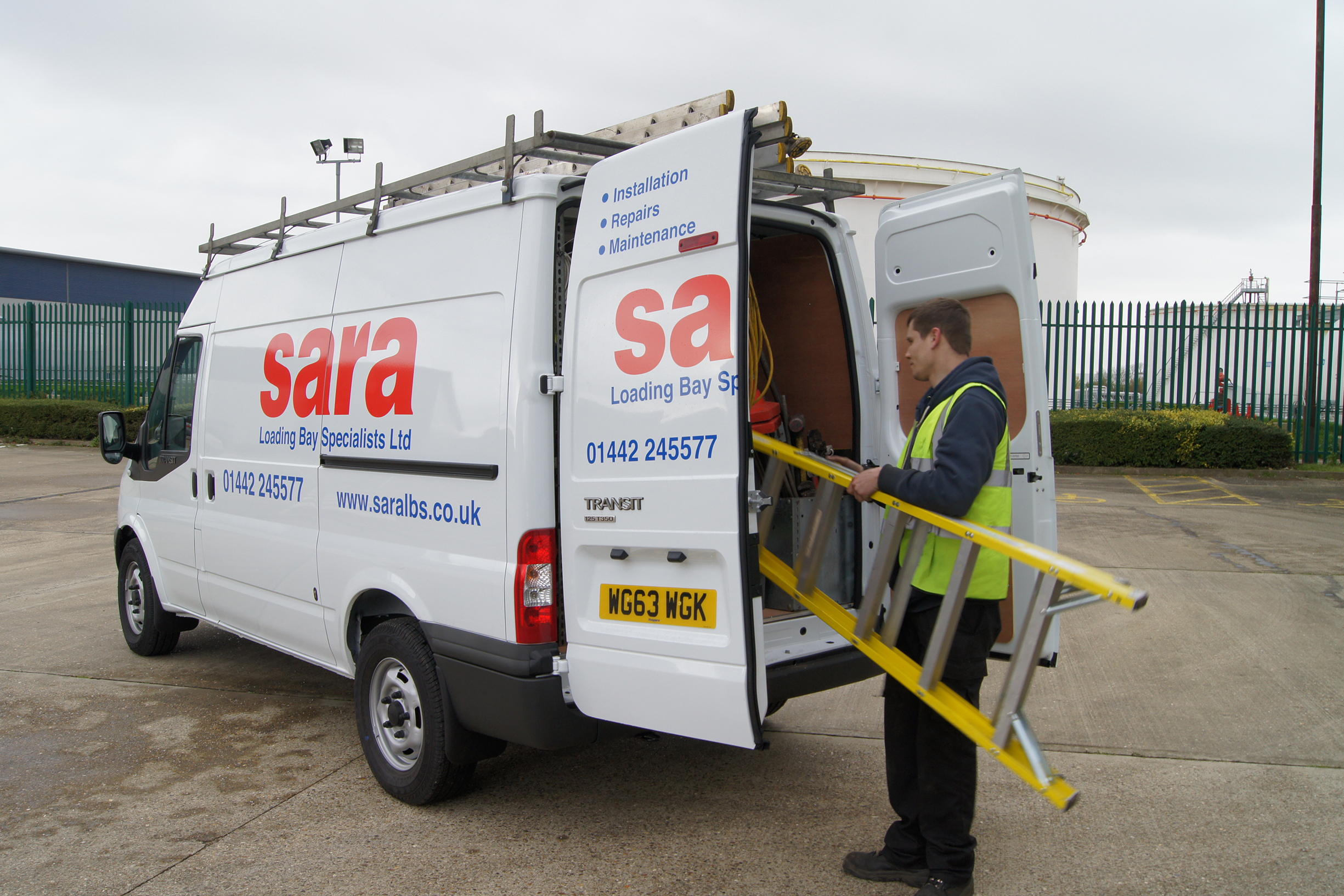 sara LBS servicing helps keep loading bays safe and efficient
