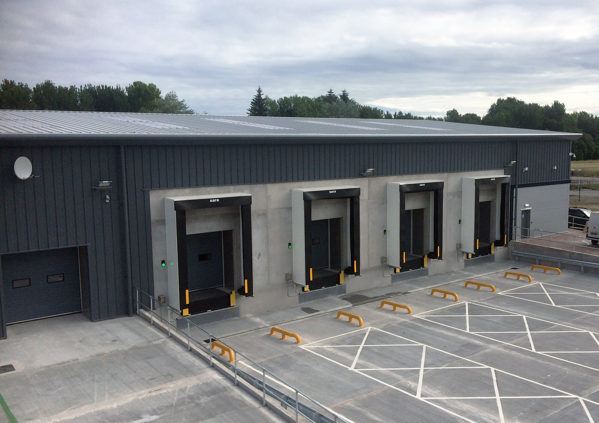sara LBS fast tracks loading bay fit-outs as Co-op expands in North Scotland