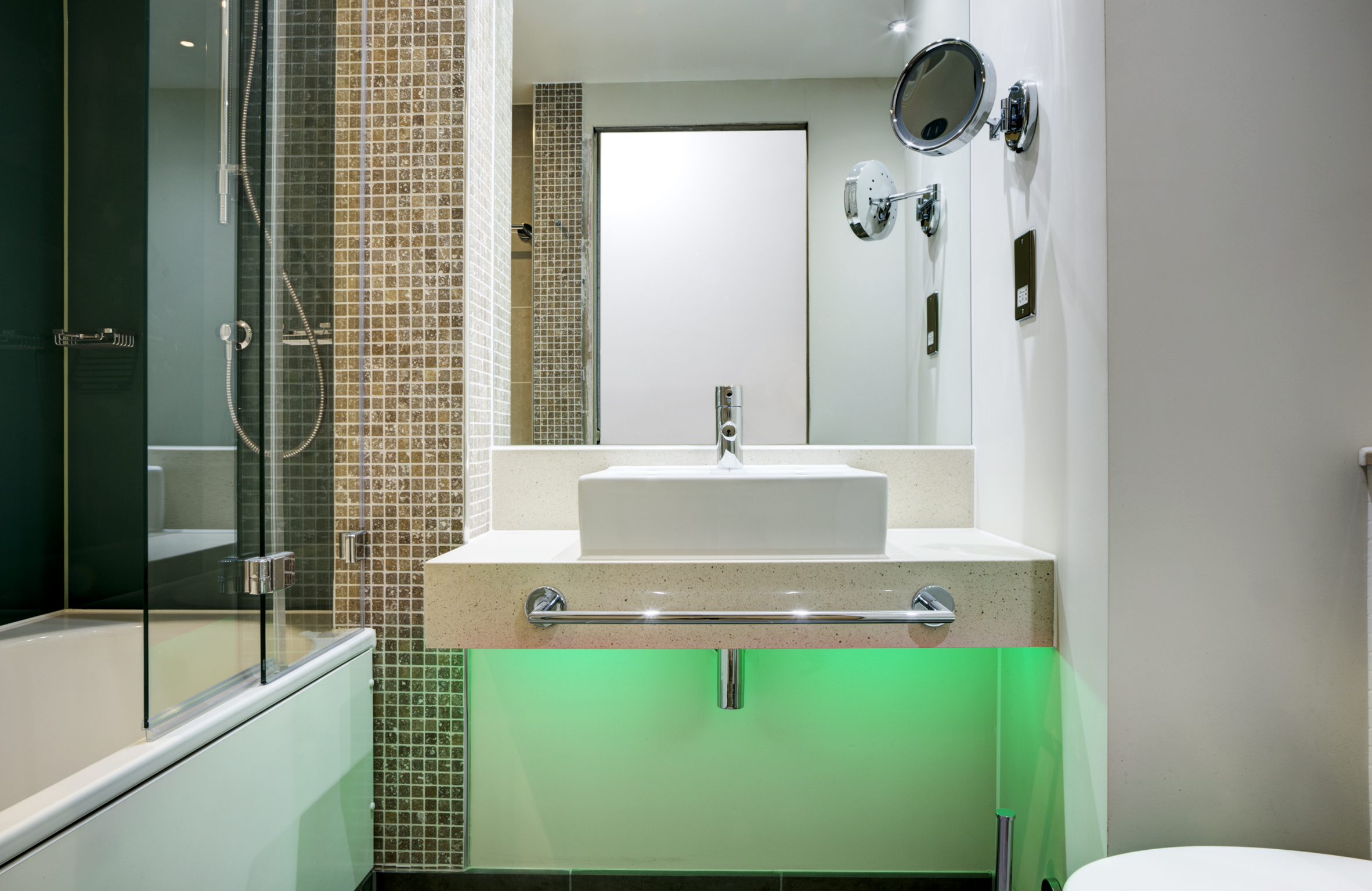 Bespoke enclosures guarantee electrical installation quality in pod  bathrooms