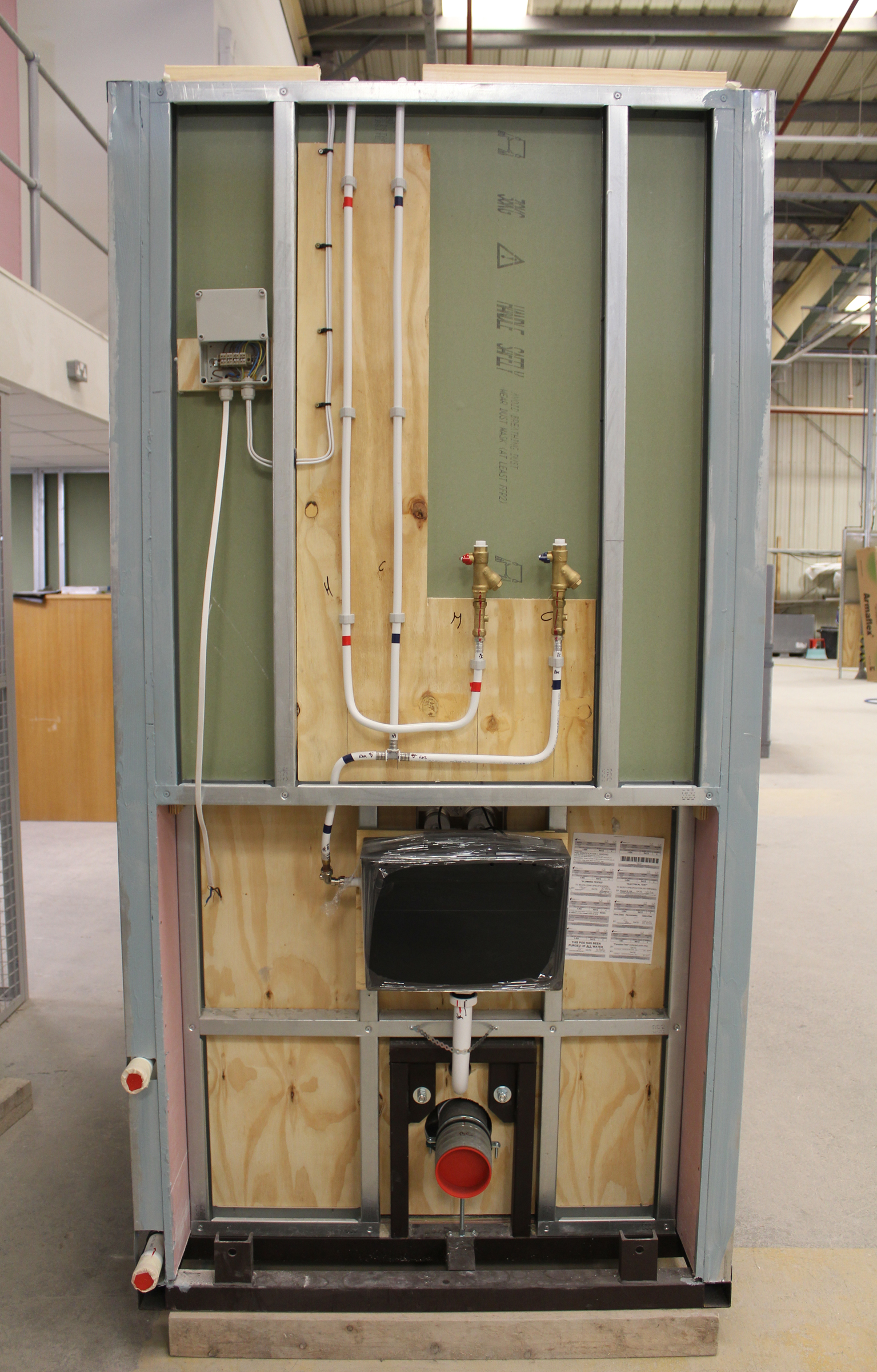 Bespoke Enclosures Guarantee Electrical Installation Quality In Pod Wiring Rules Bathrooms