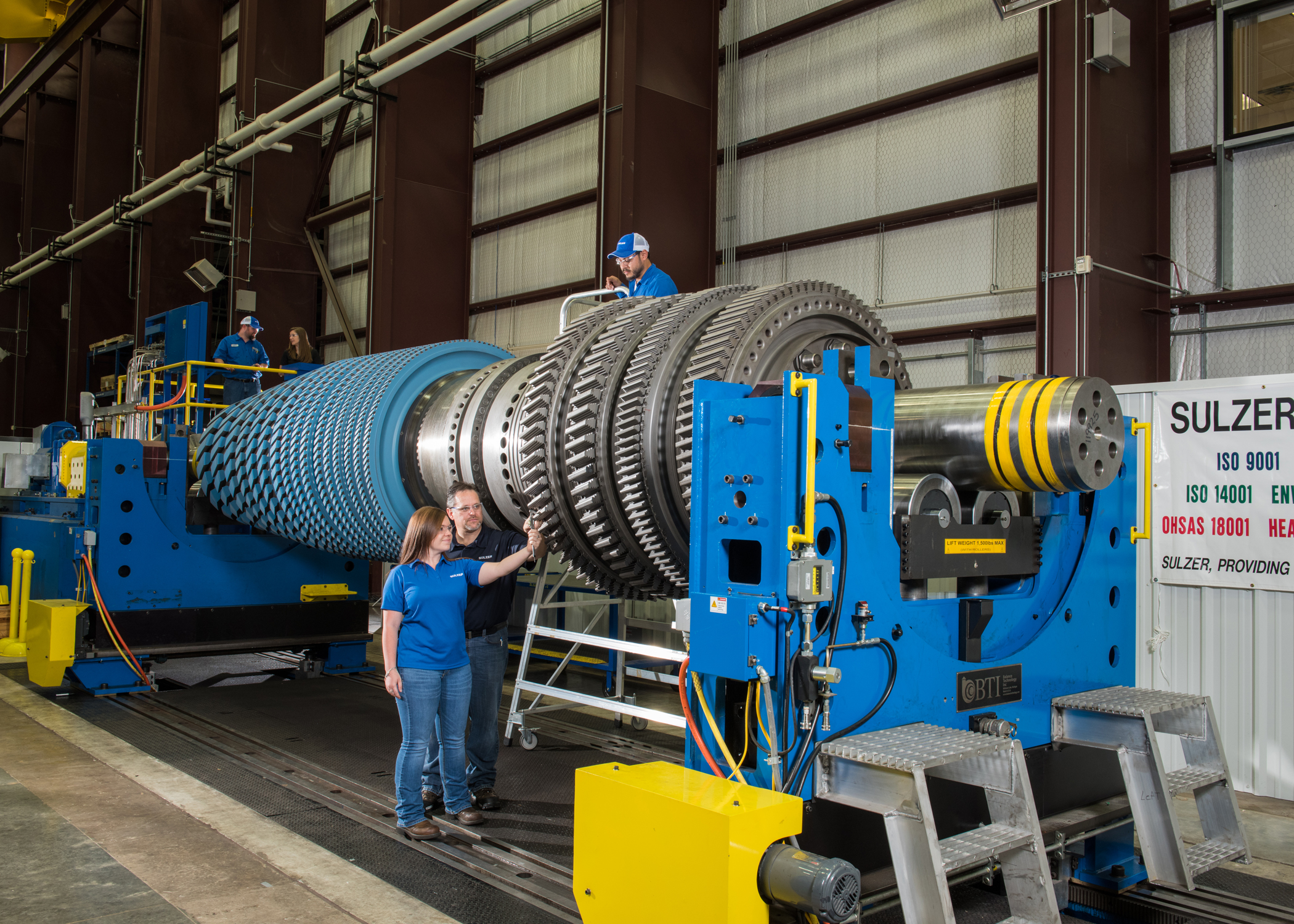 Industrial gas turbine rotor repair – What does it take